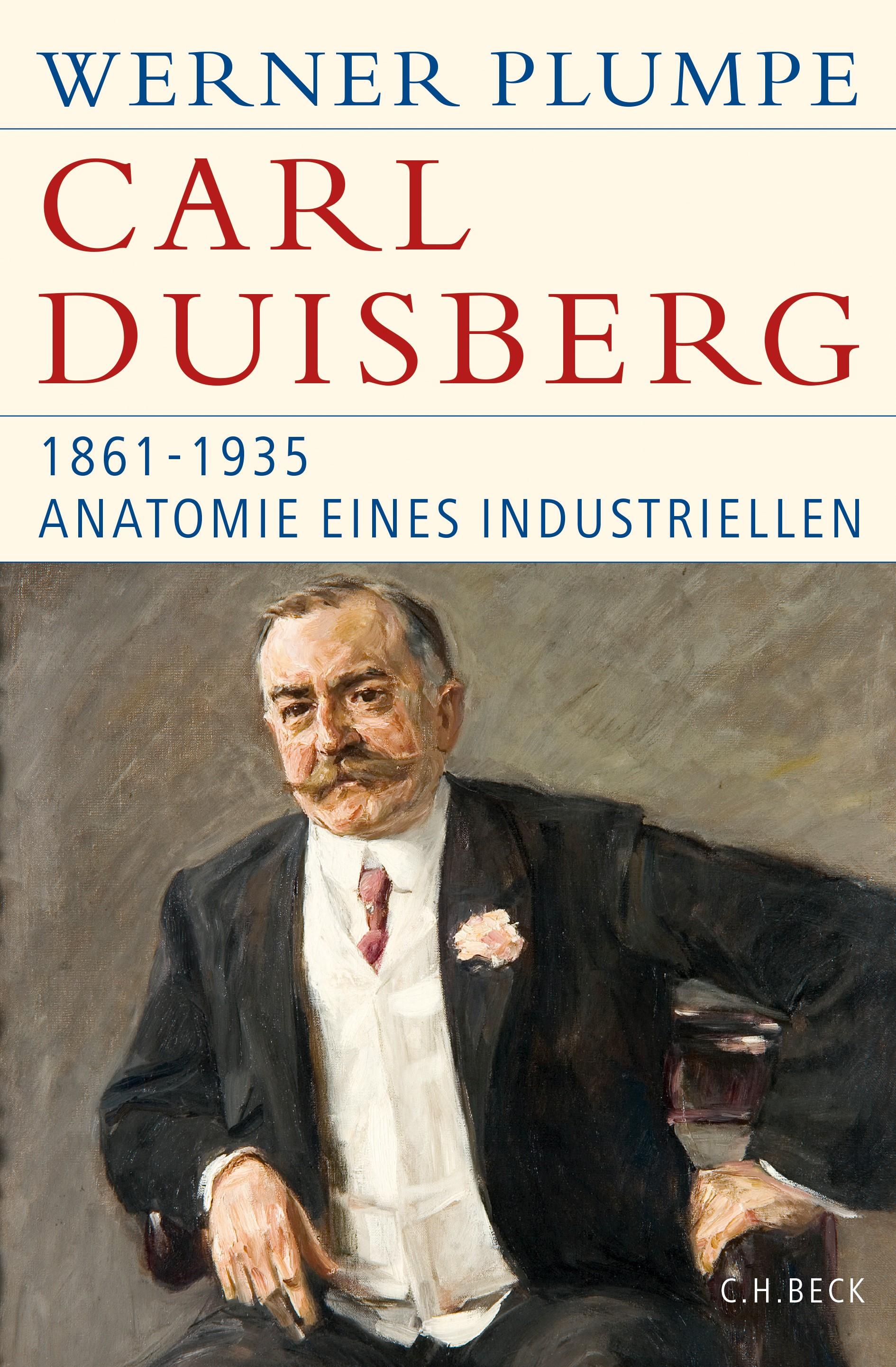 Cover des Buches 'Carl Duisberg'