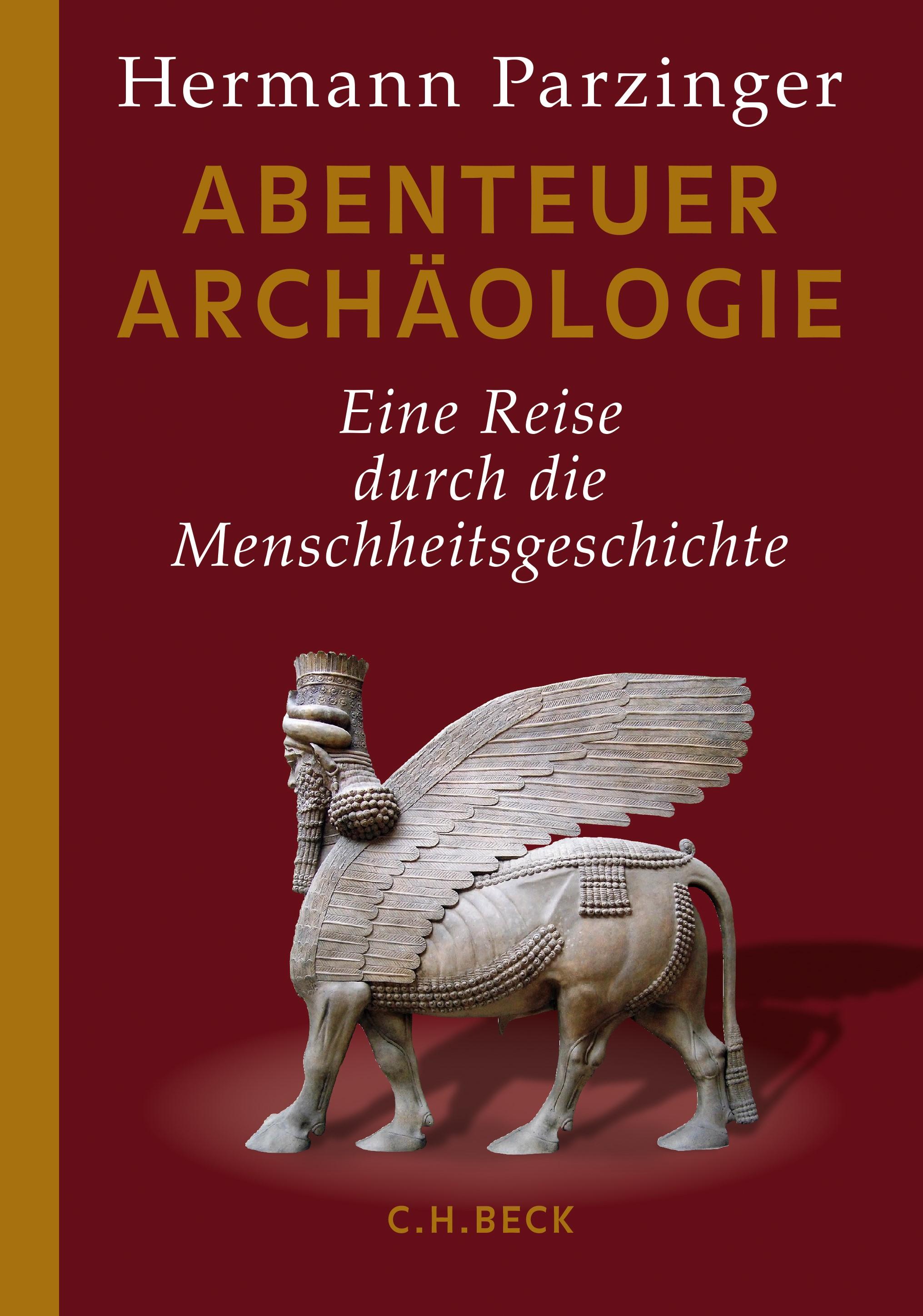 Cover des Buches 'Abenteuer Archäologie'