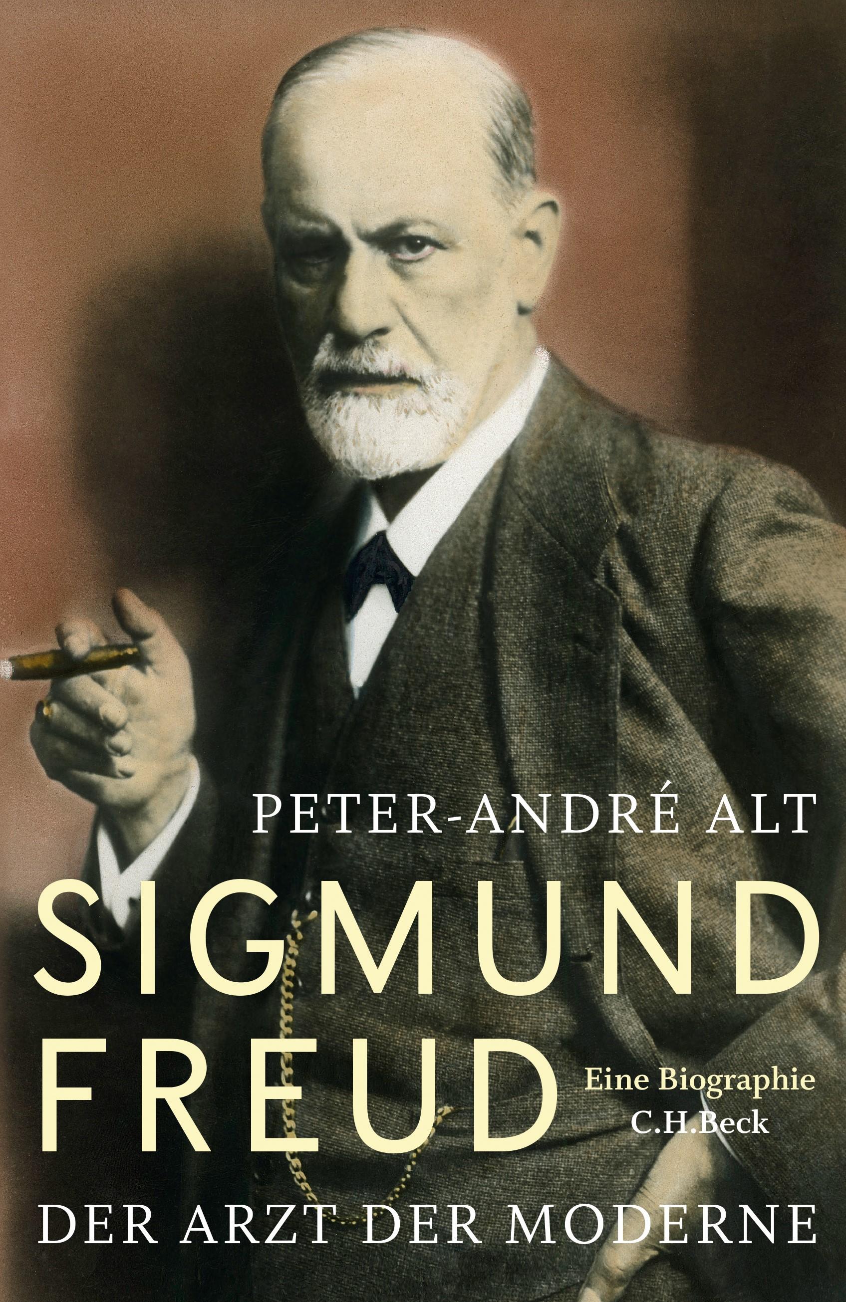 Cover des Buches 'Sigmund Freud'