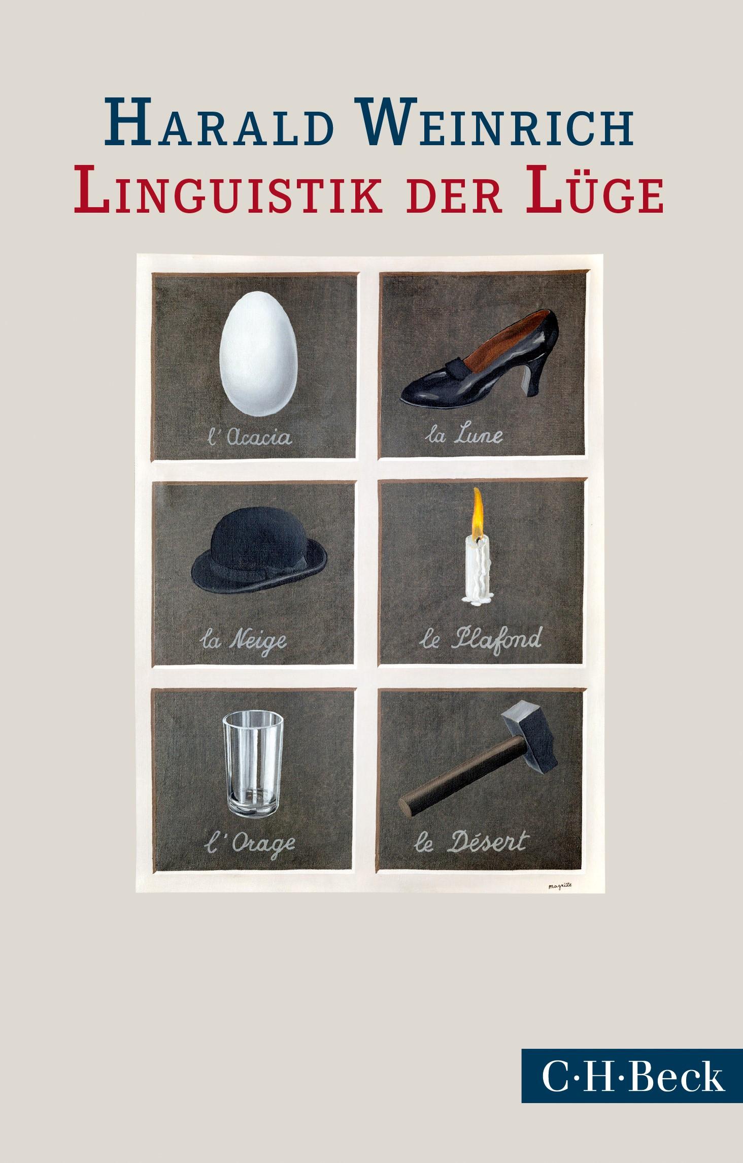 Cover des Buches 'Linguistik der Lüge'