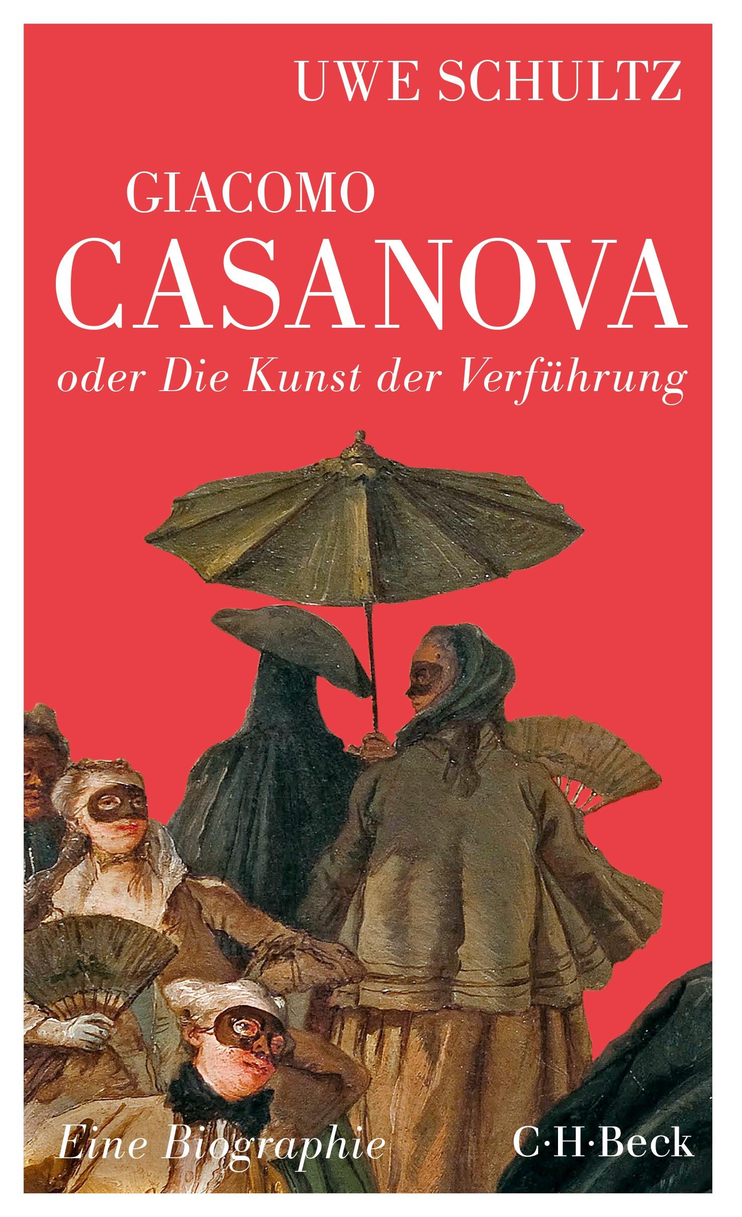 Cover des Buches 'Giacomo Casanova oder Die Kunst der Verführung'