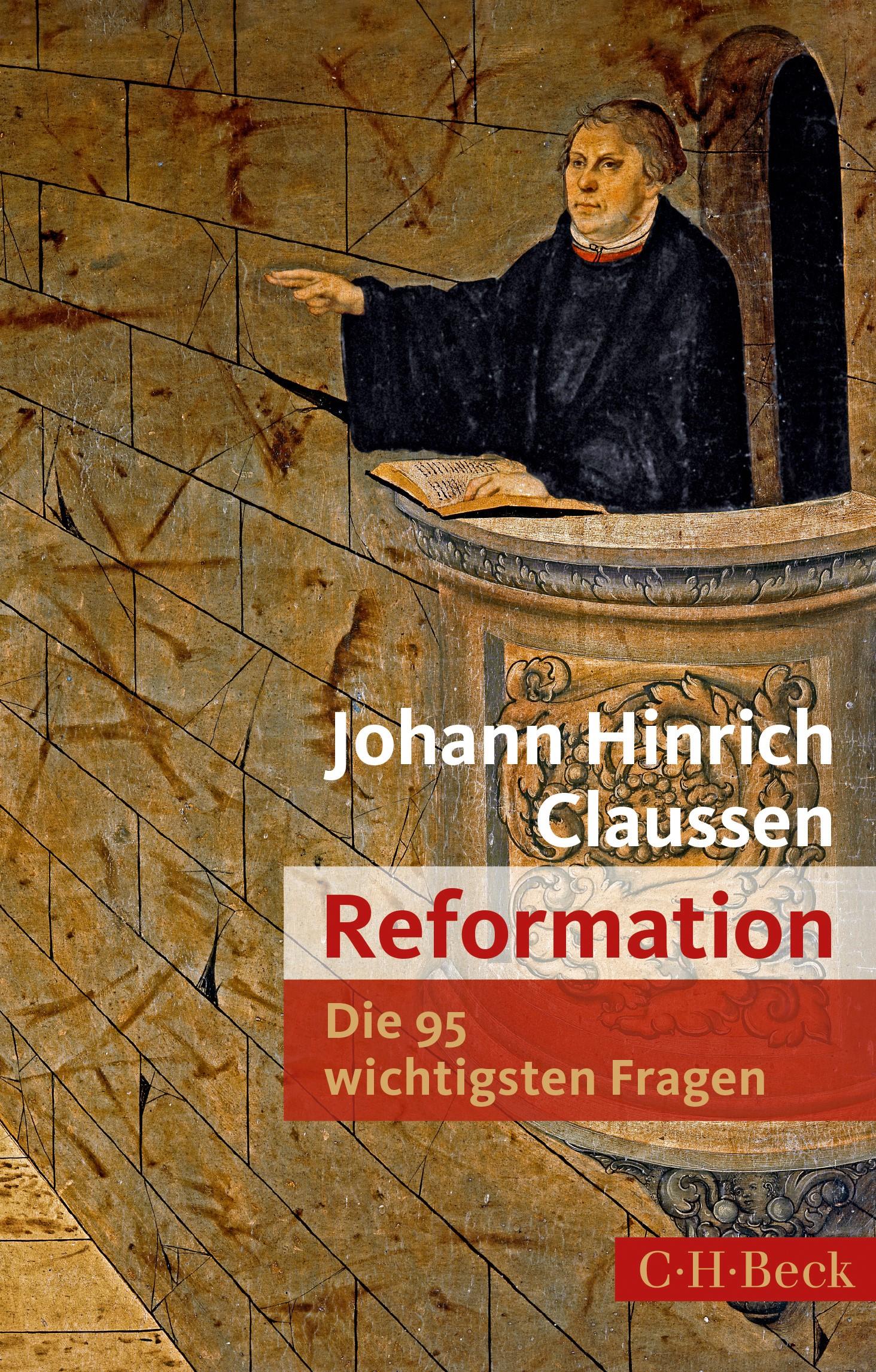 Cover des Buches 'Die 95 wichtigsten Fragen: Reformation'