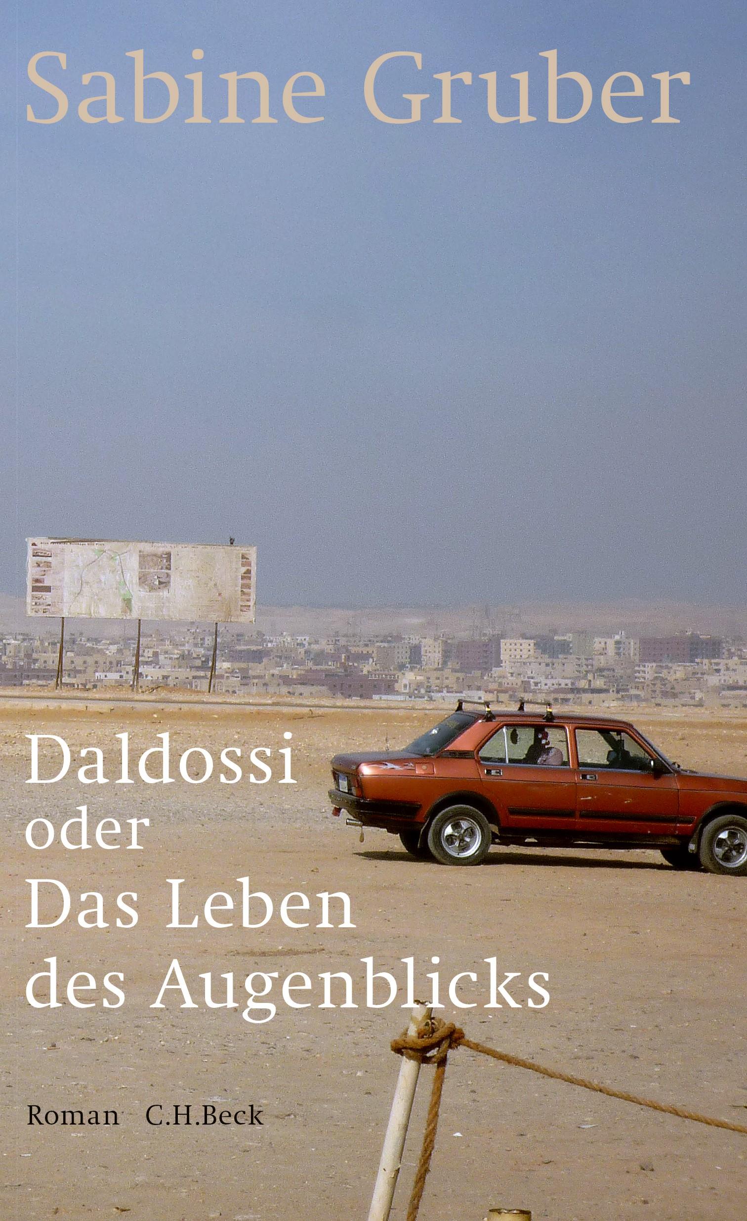 Cover des Buches 'Daldossi oder Das Leben des Augenblicks'