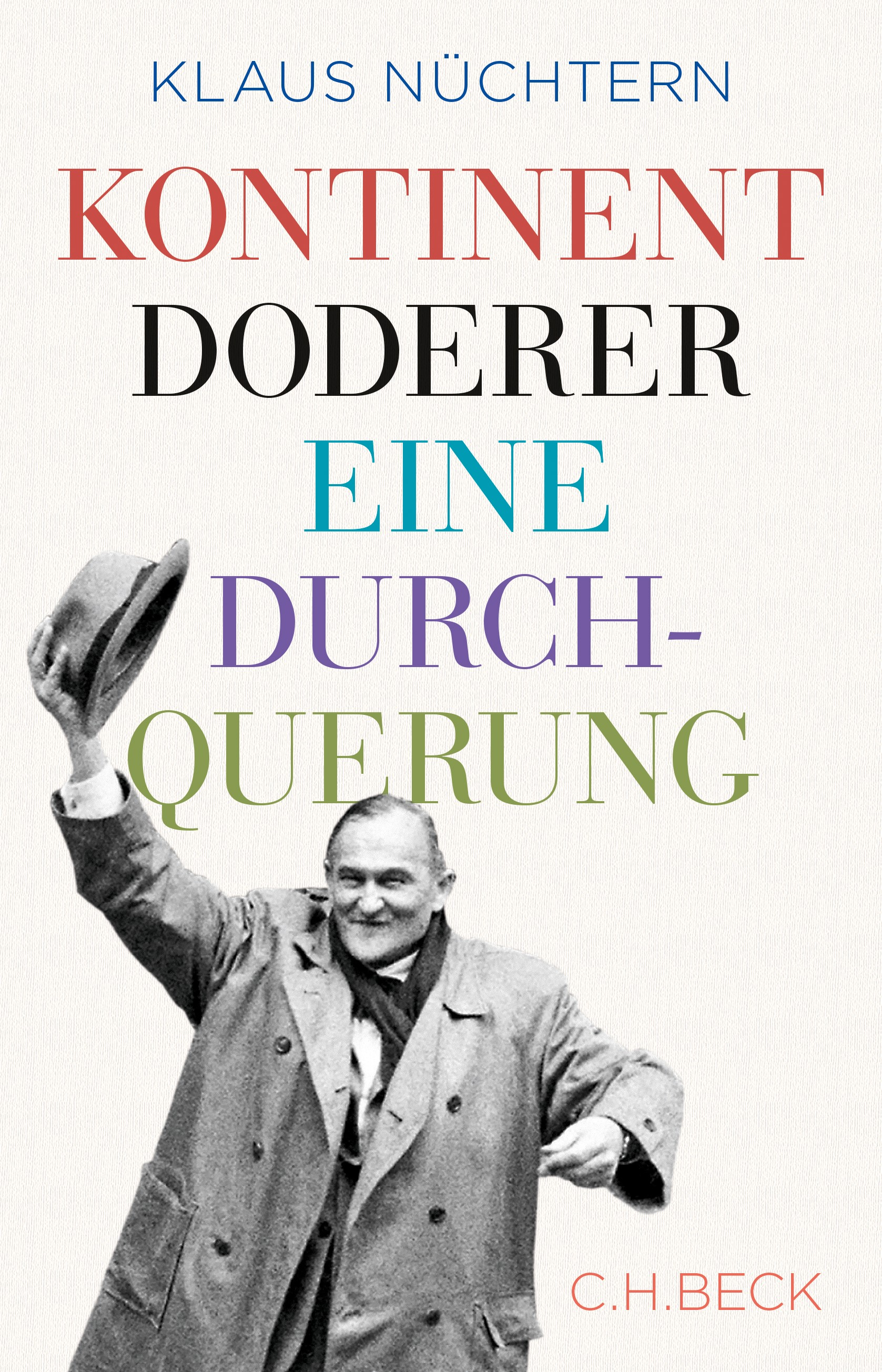Cover des Buches 'Kontinent Doderer'