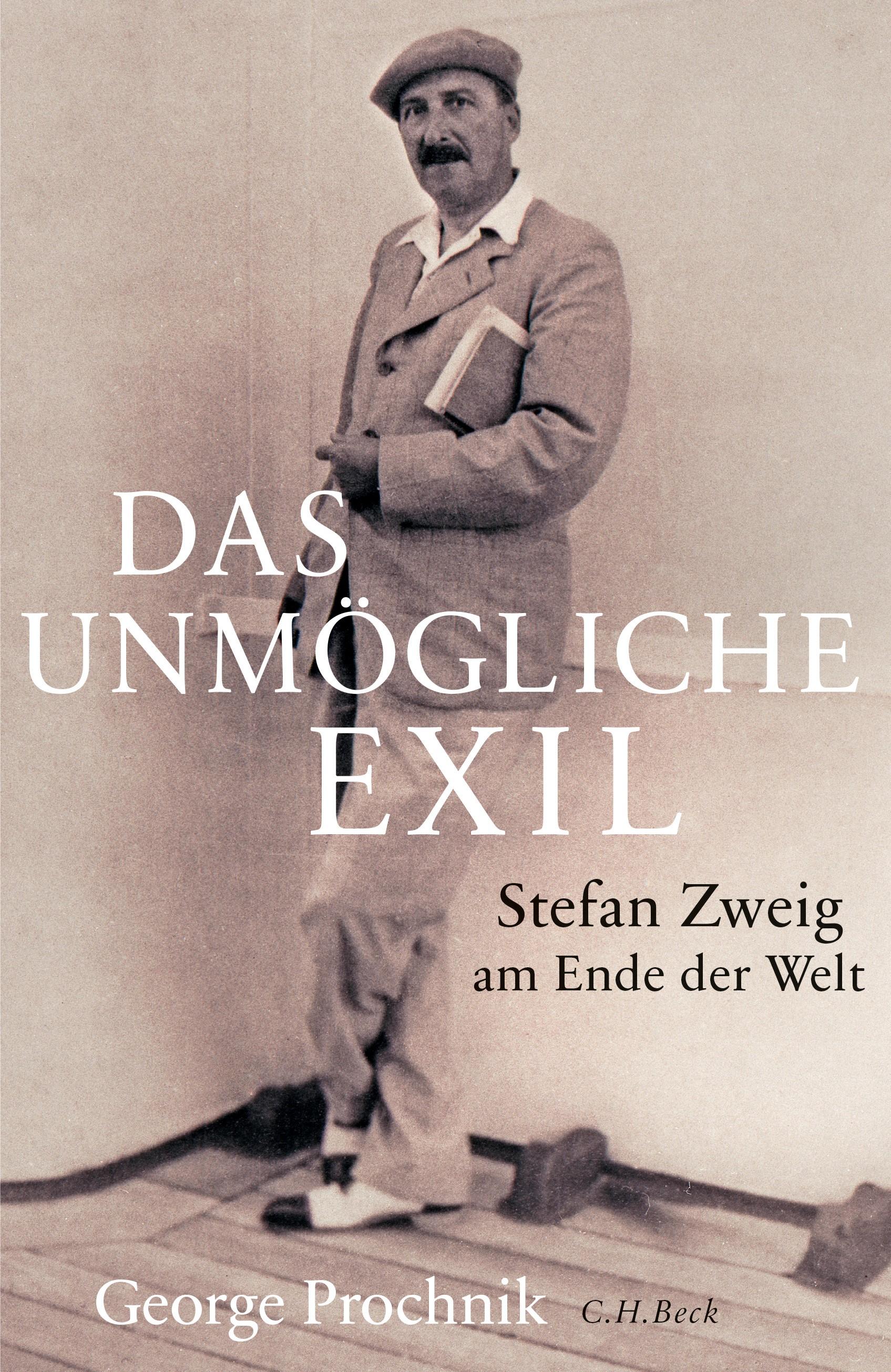 Cover des Buches 'Das unmögliche Exil'
