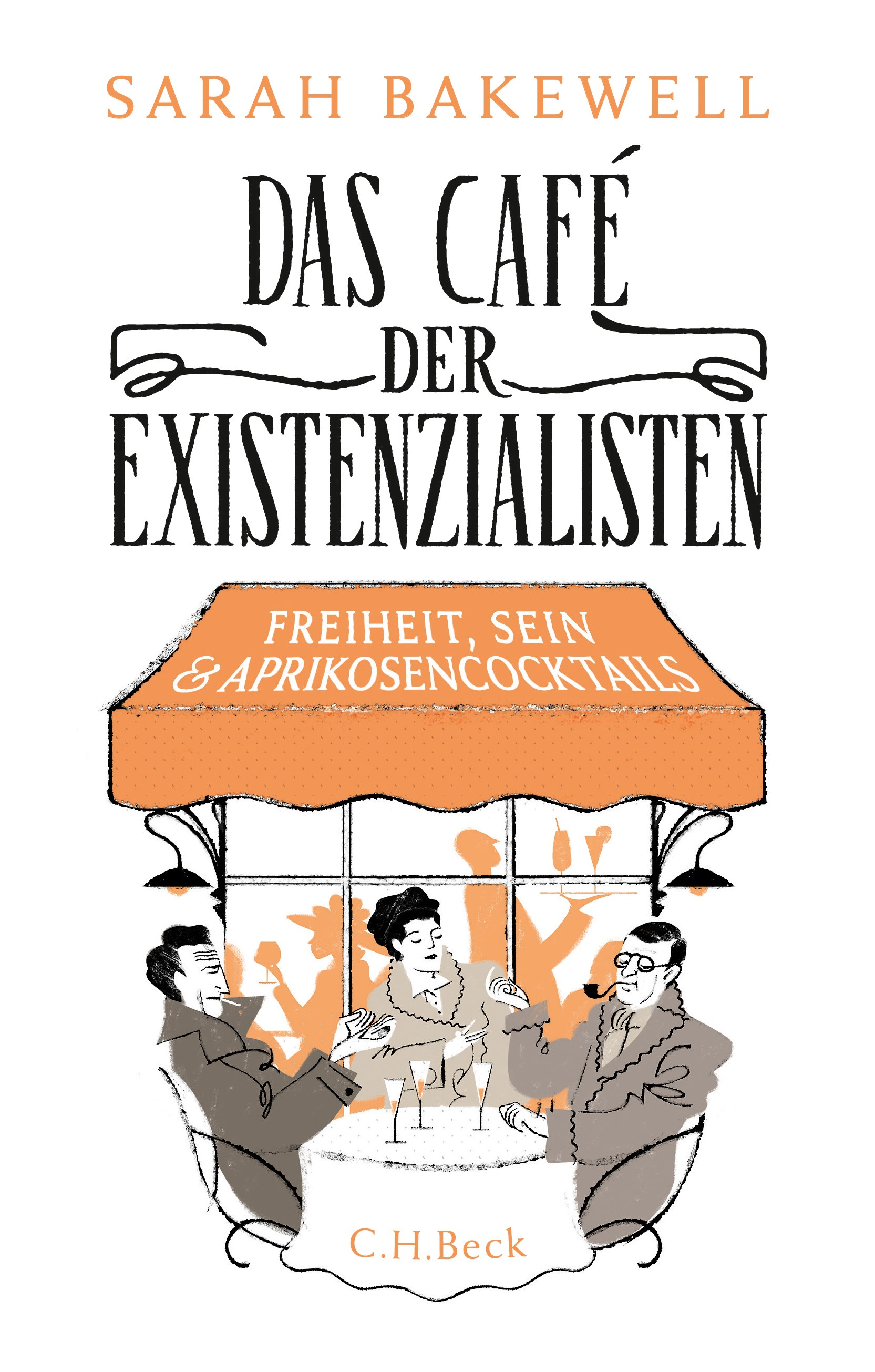 Cover des Buches 'Das Café der Existenzialisten'