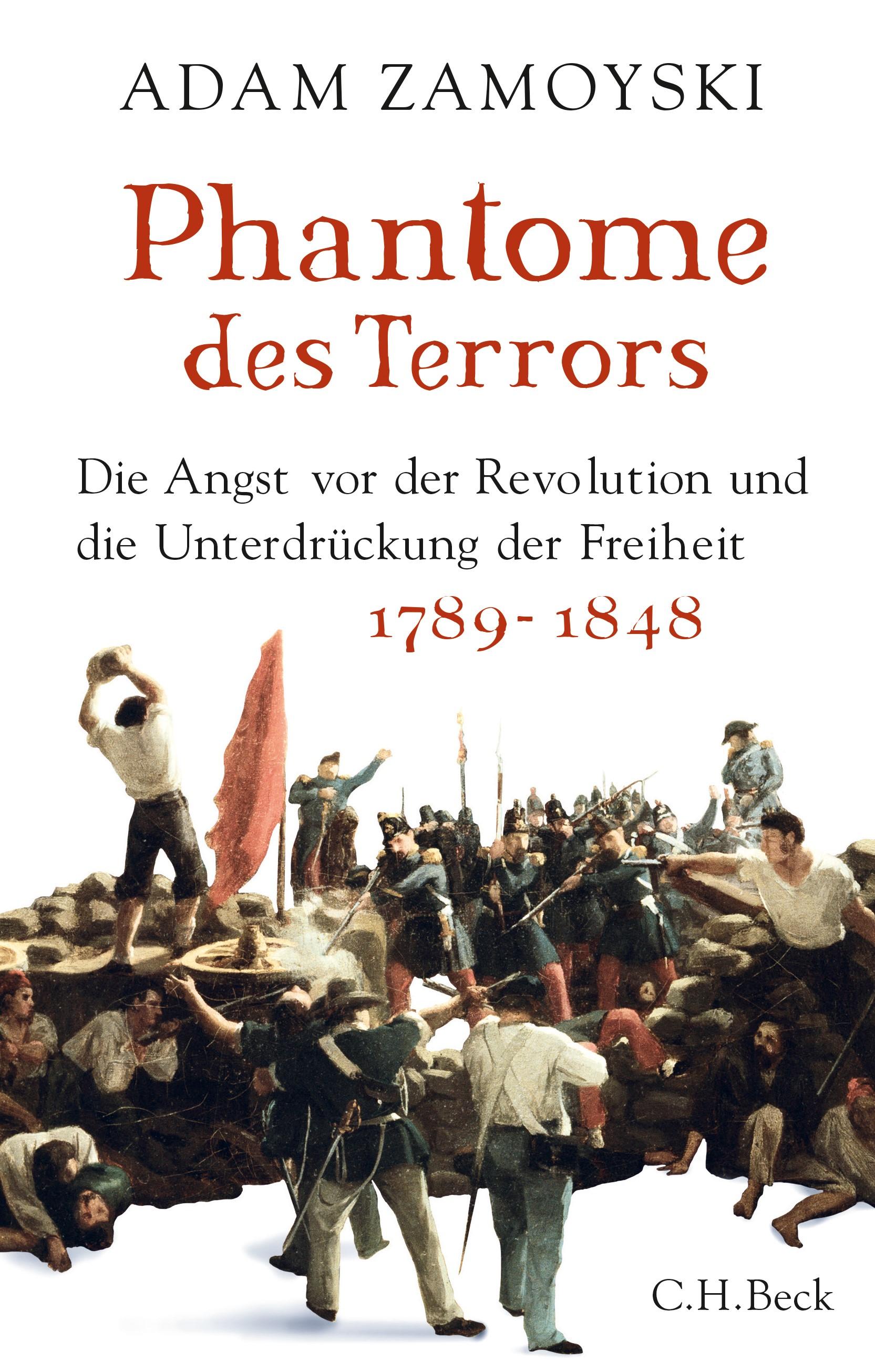 Cover des Buches 'Phantome des Terrors'