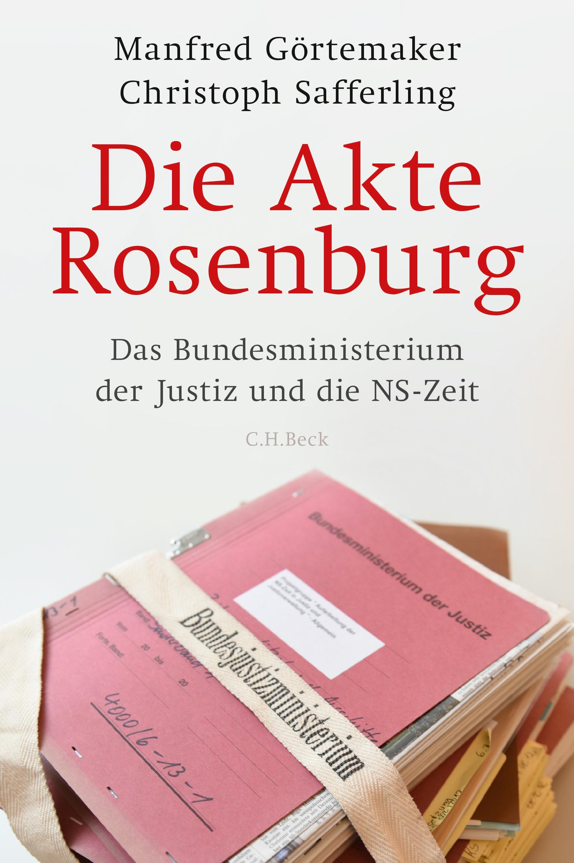 Cover des Buches 'Die Akte Rosenburg'