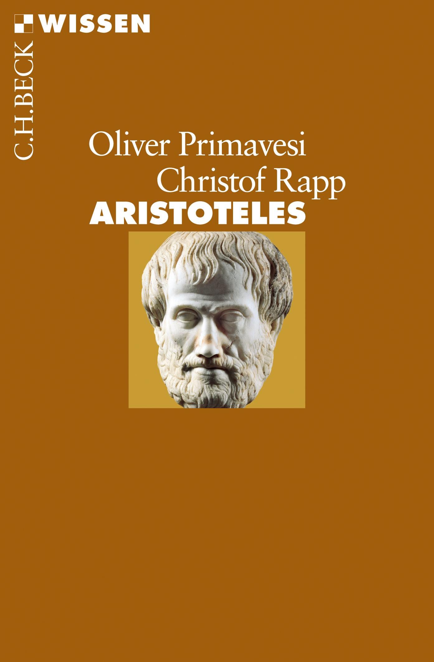 Cover des Buches 'Aristoteles'