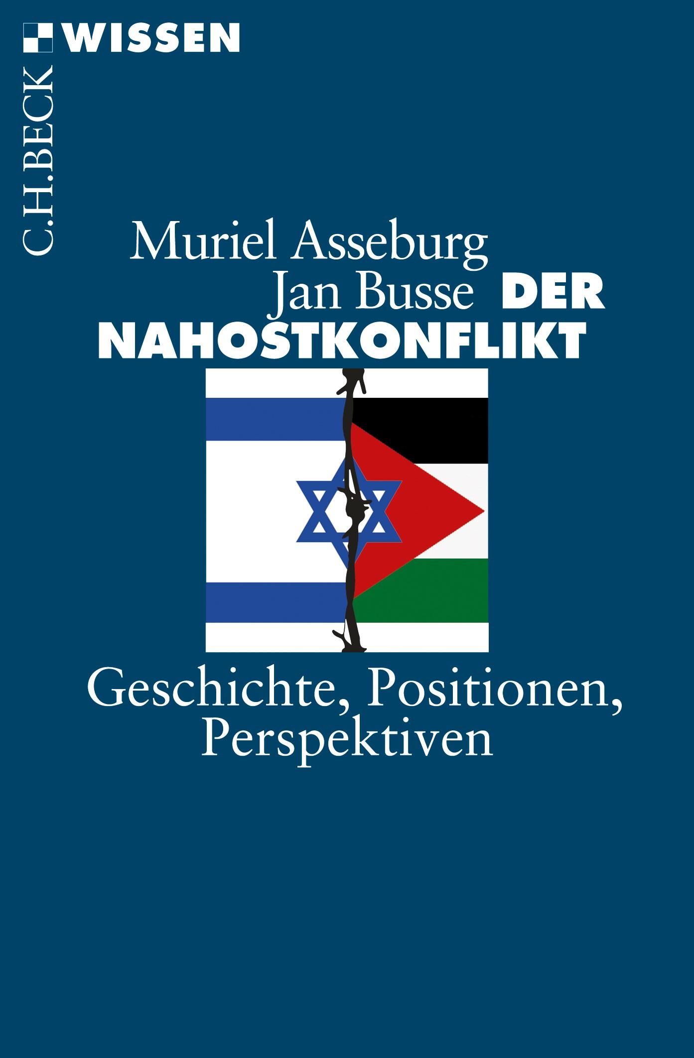 Cover des Buches 'Der Nahostkonflikt'