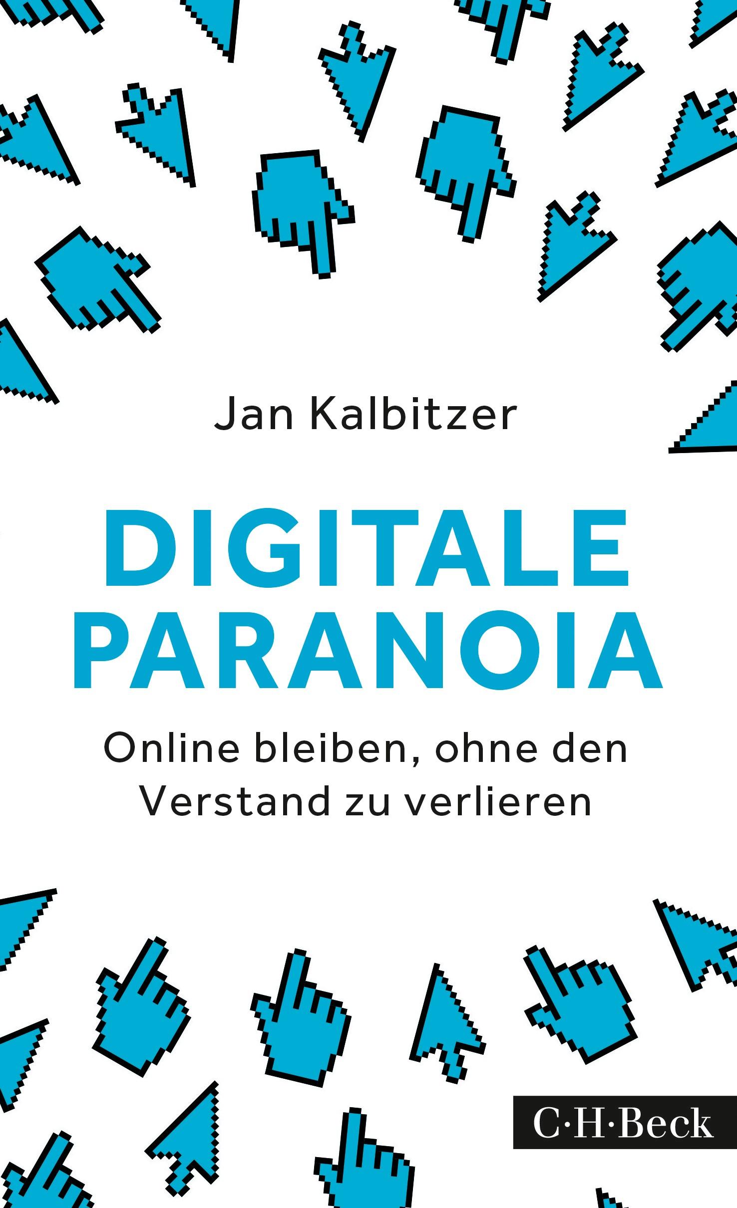 Cover des Buches 'Digitale Paranoia'