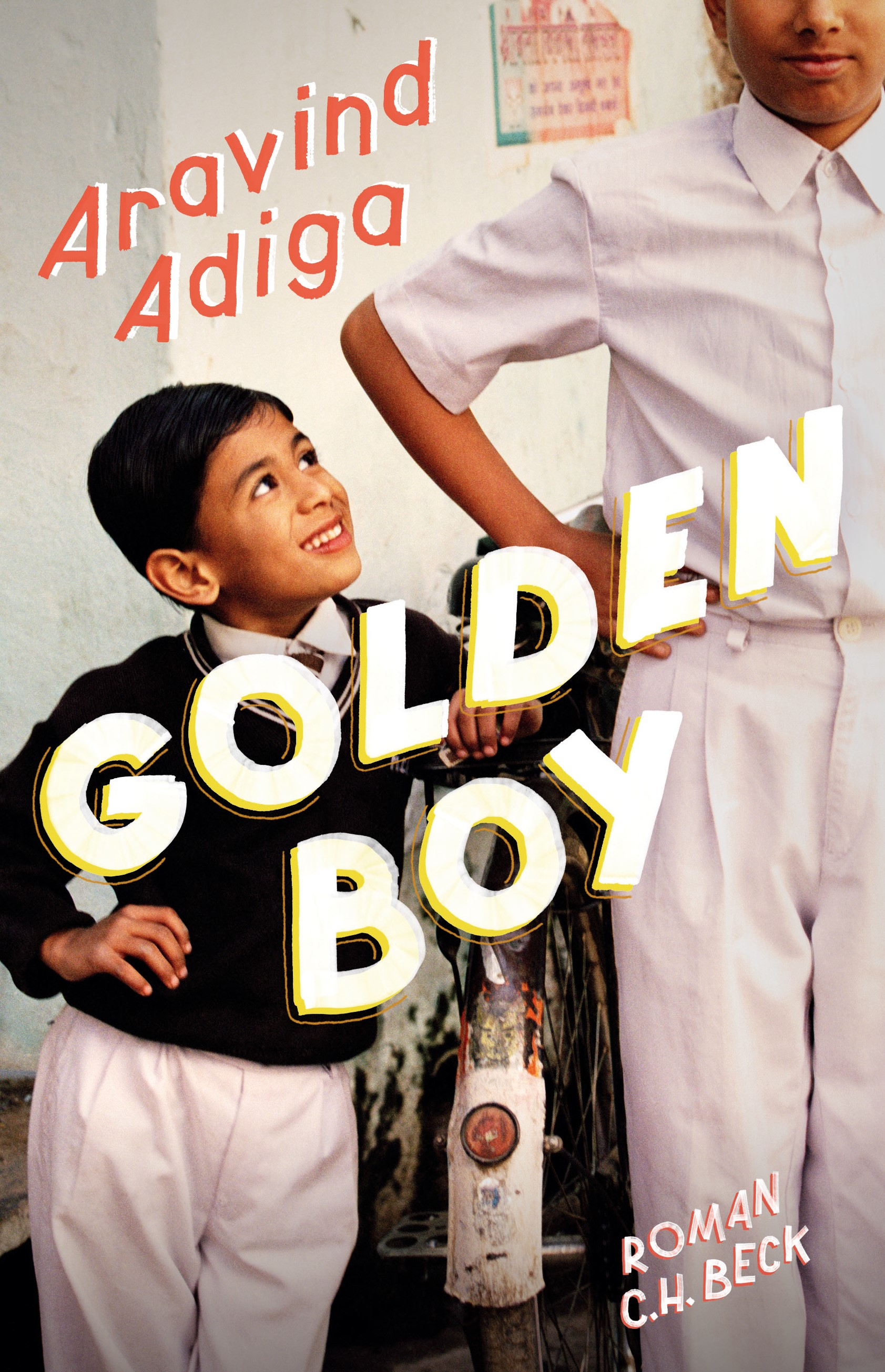 Cover des Buches 'Golden Boy'
