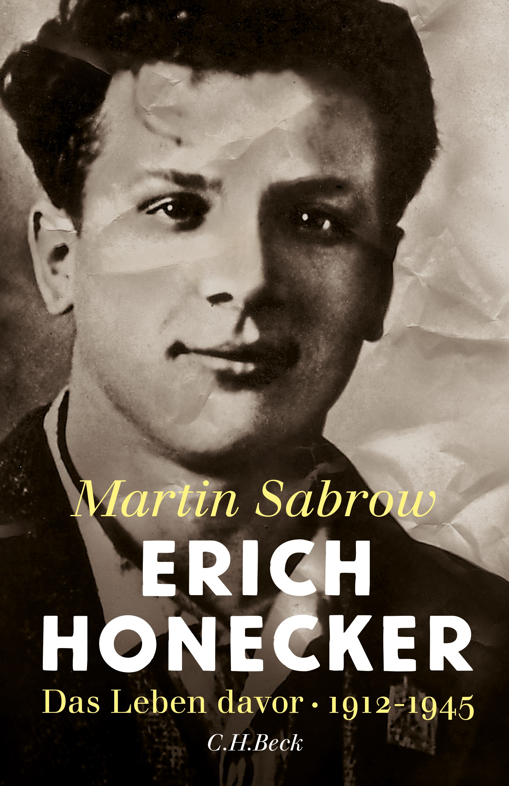 Cover des Buches 'Erich Honecker'