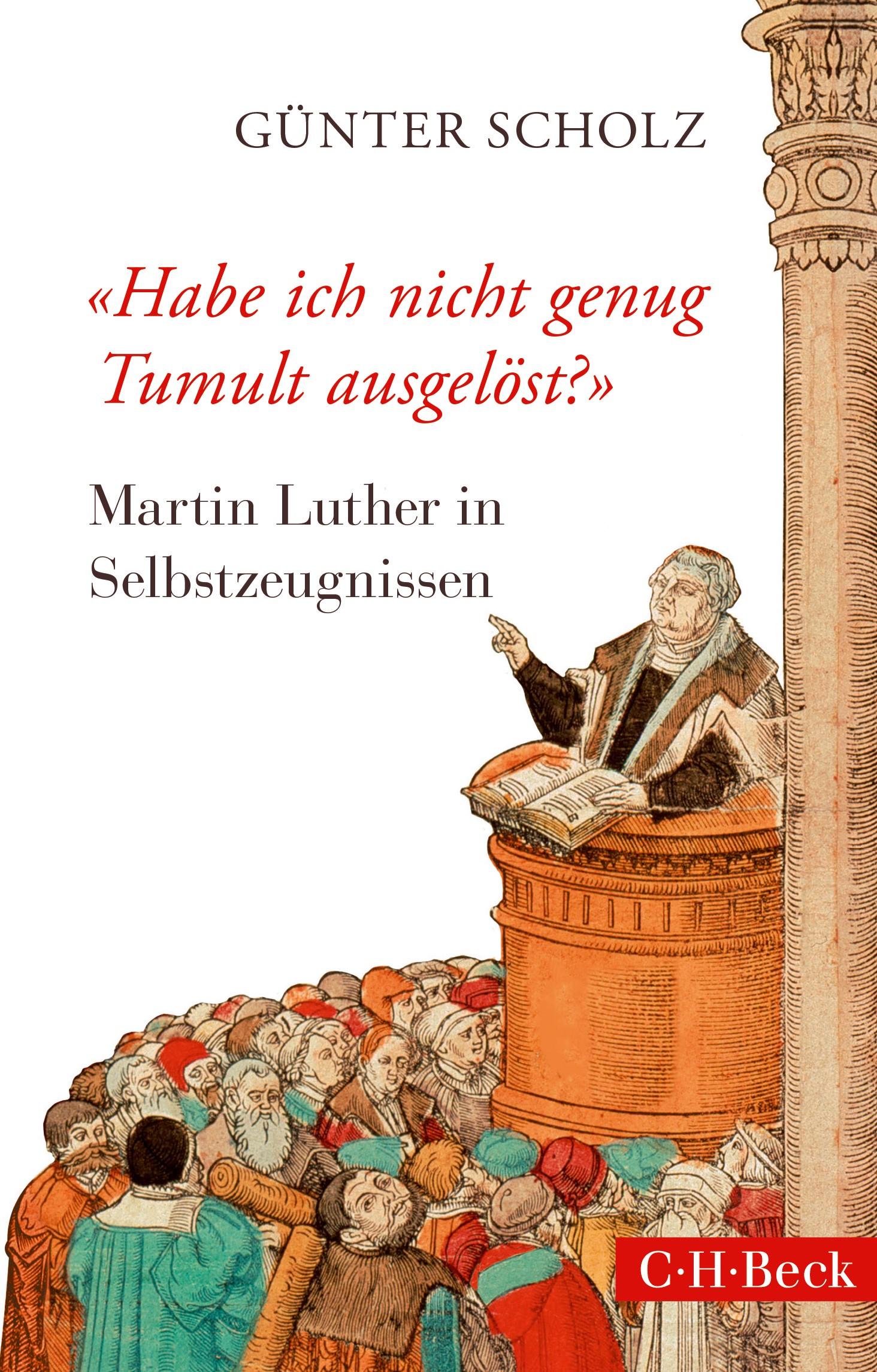 Cover des Buches ''Habe ich nicht genug Tumult ausgelöst?''