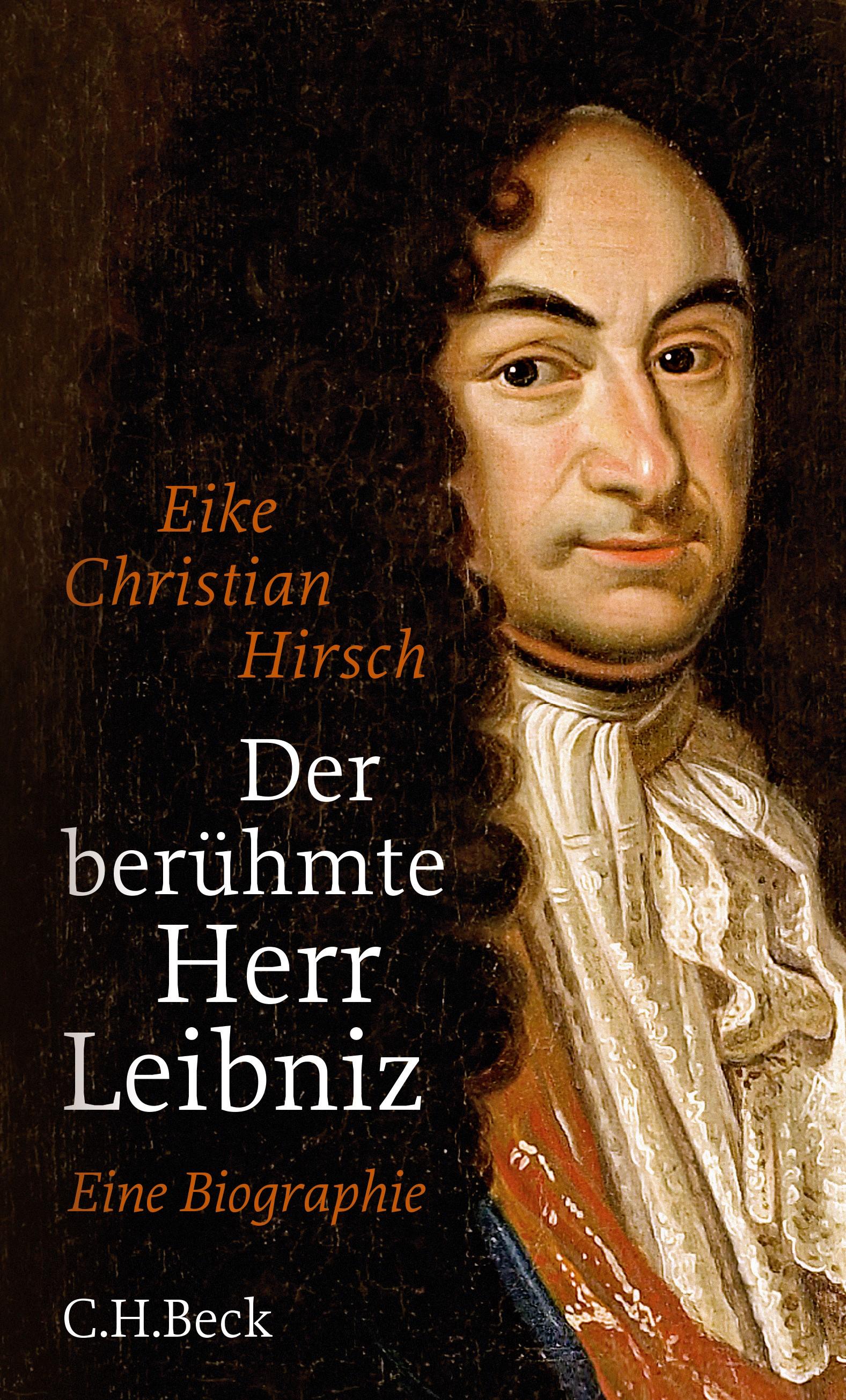 Cover des Buches 'Der berühmte Herr Leibniz'