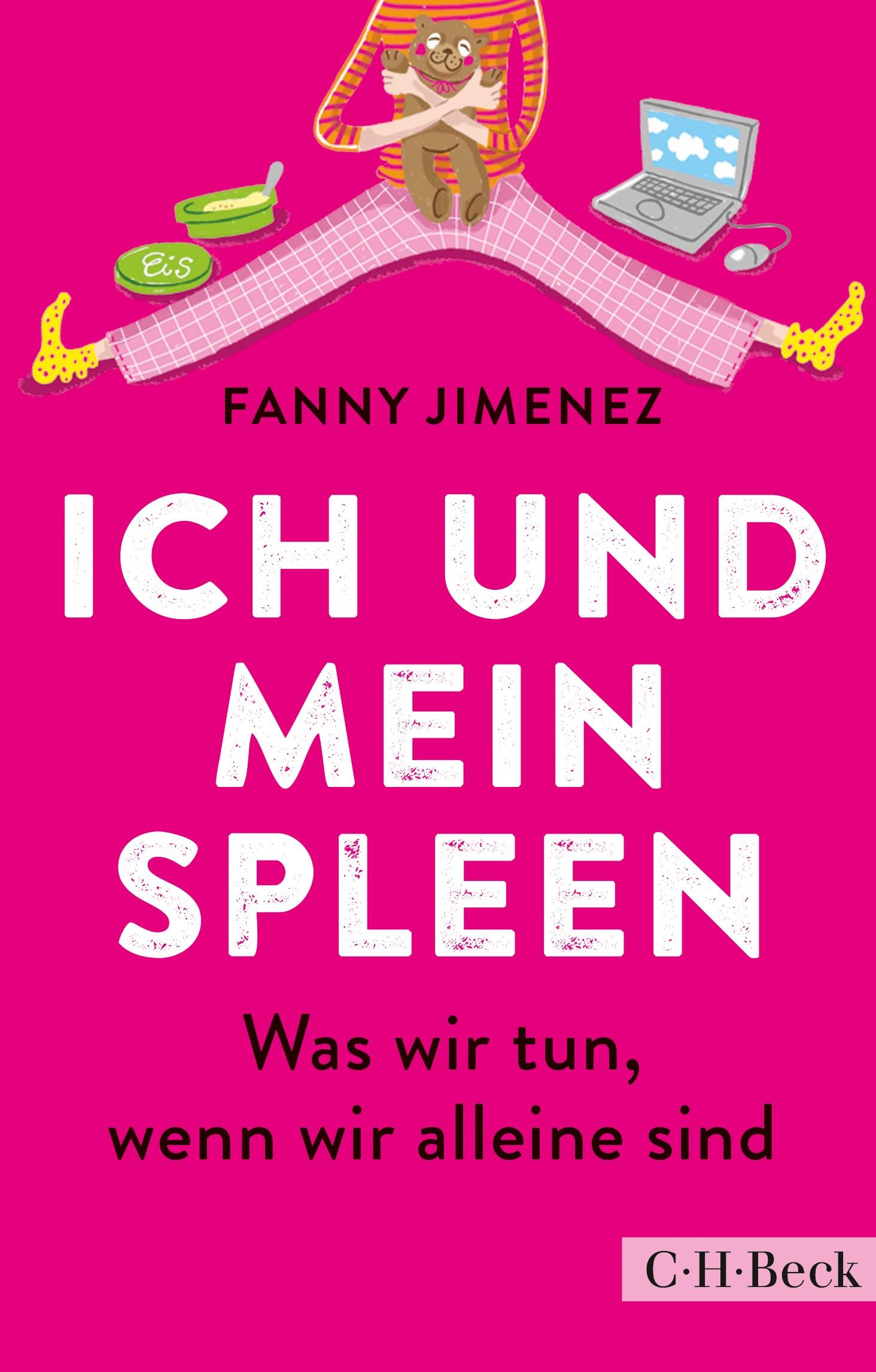 Cover des Buches 'Ich und mein Spleen'