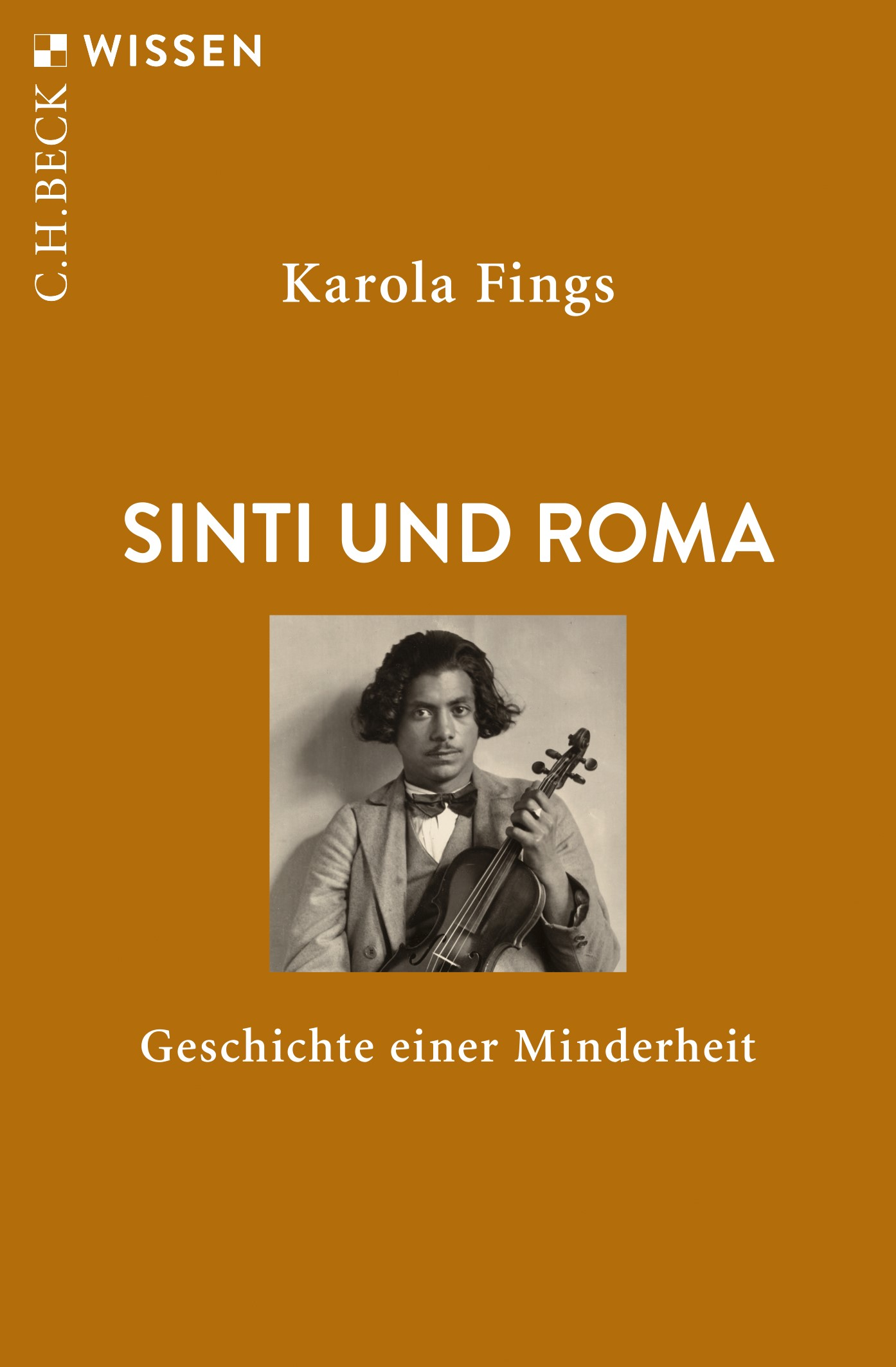 Cover des Buches 'Sinti und Roma'