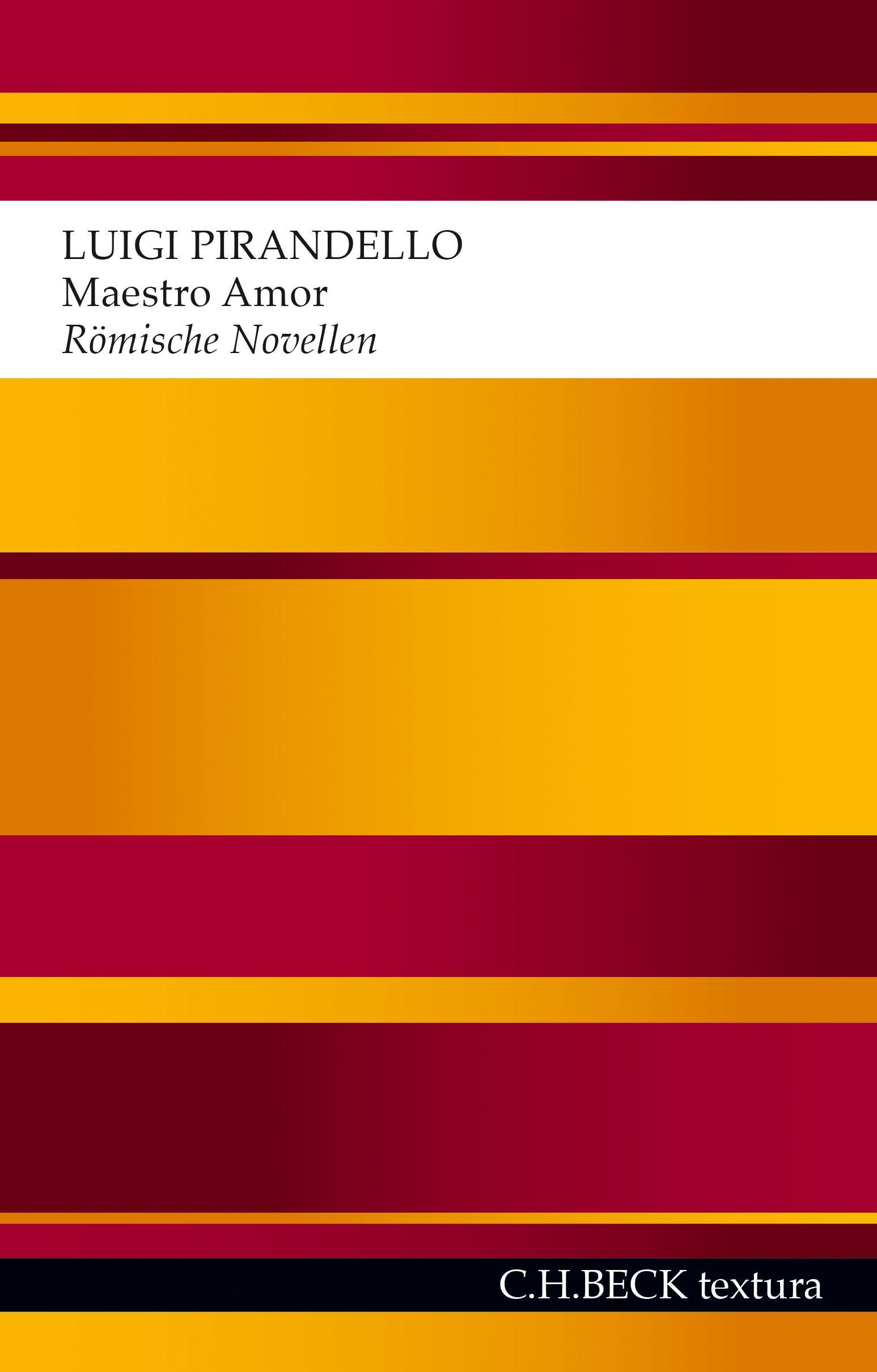 Cover des Buches 'Maestro Amor'