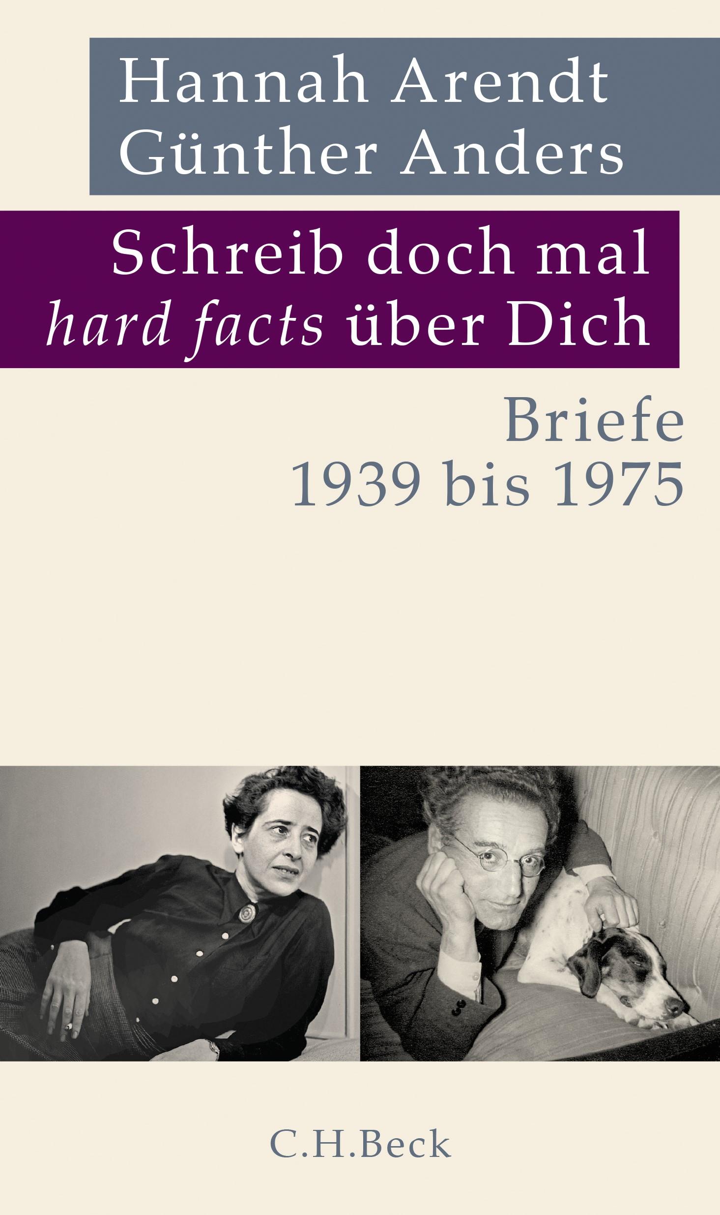 Cover des Buches 'Schreib doch mal 'hard facts' über Dich'