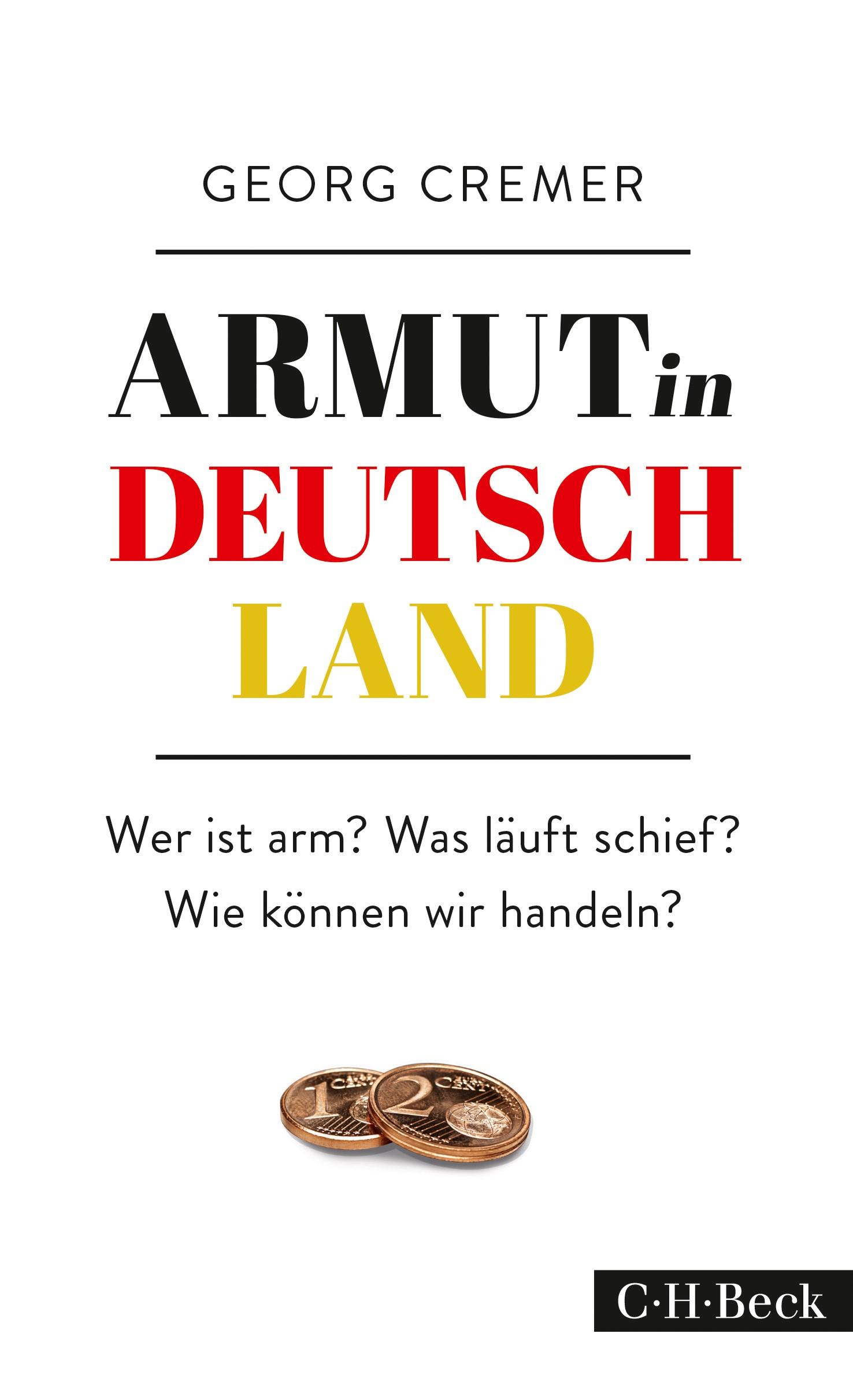 Cover des Buches 'Armut in Deutschland'