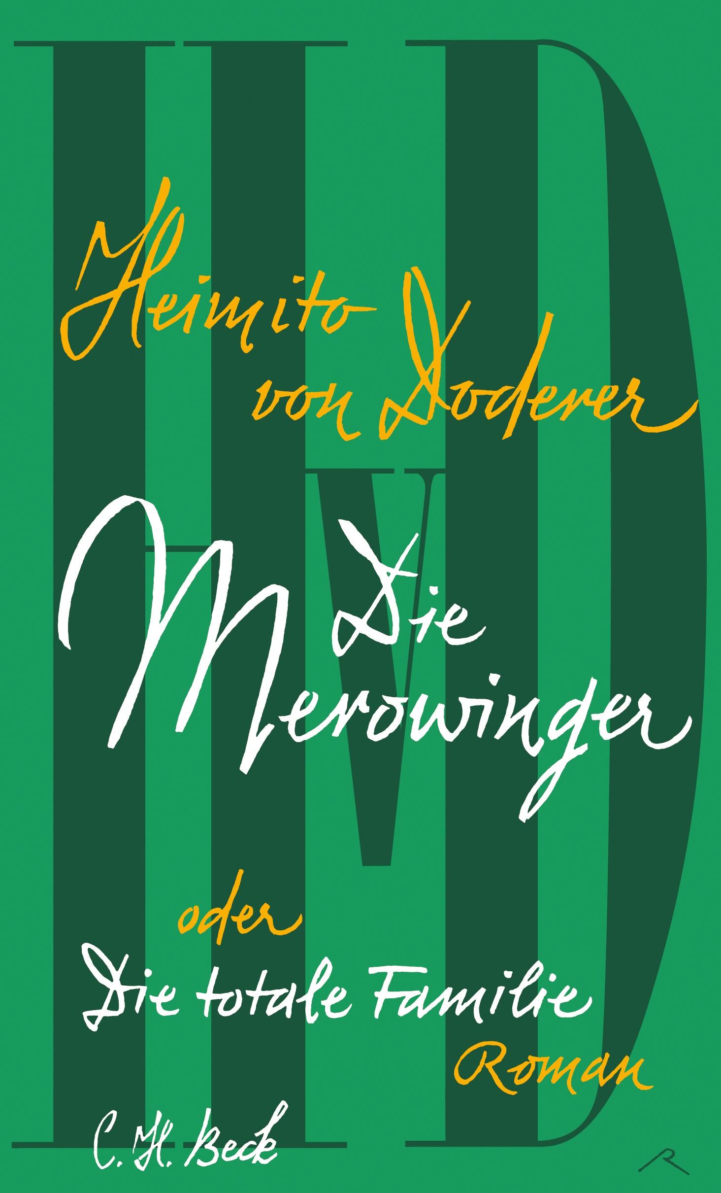 Cover des Buches 'Die Merowinger oder Die totale Familie'