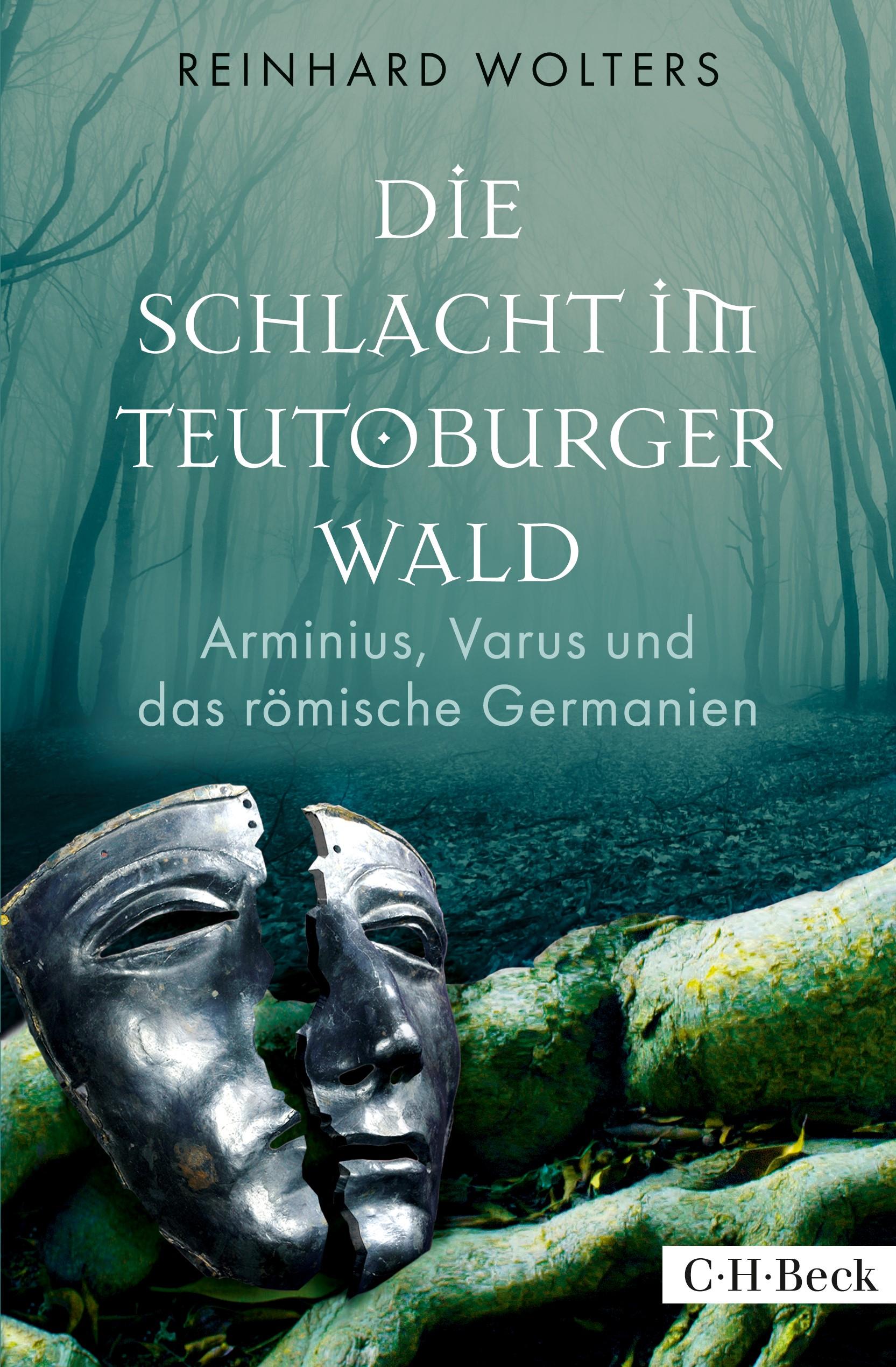 Cover des Buches 'Die Schlacht im Teutoburger Wald'