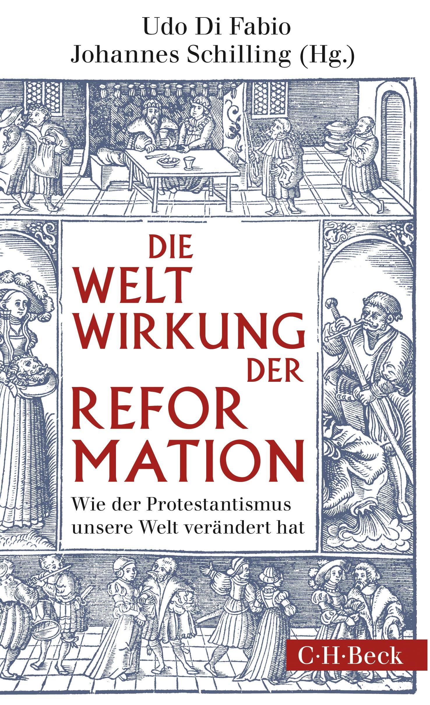 Cover des Buches 'Weltwirkung der Reformation'