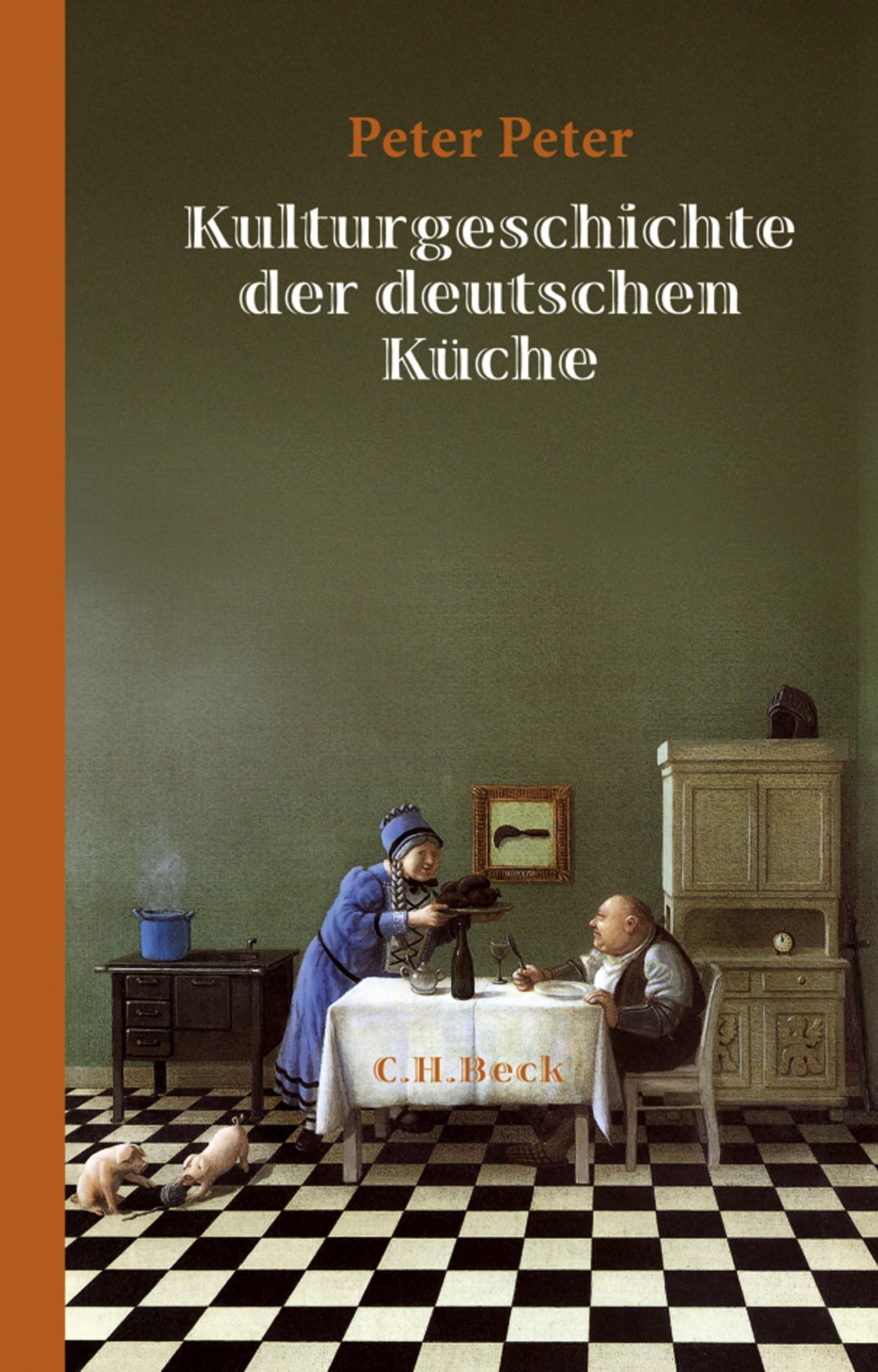 Cover des Buches 'Kulturgeschichte der deutschen Küche'
