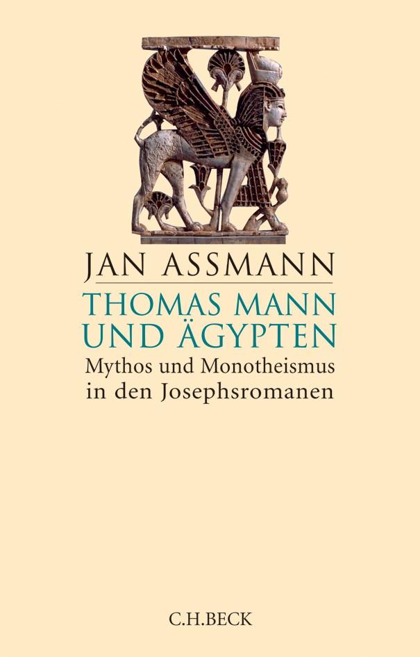 Cover des Buches 'Thomas Mann und Ägypten'