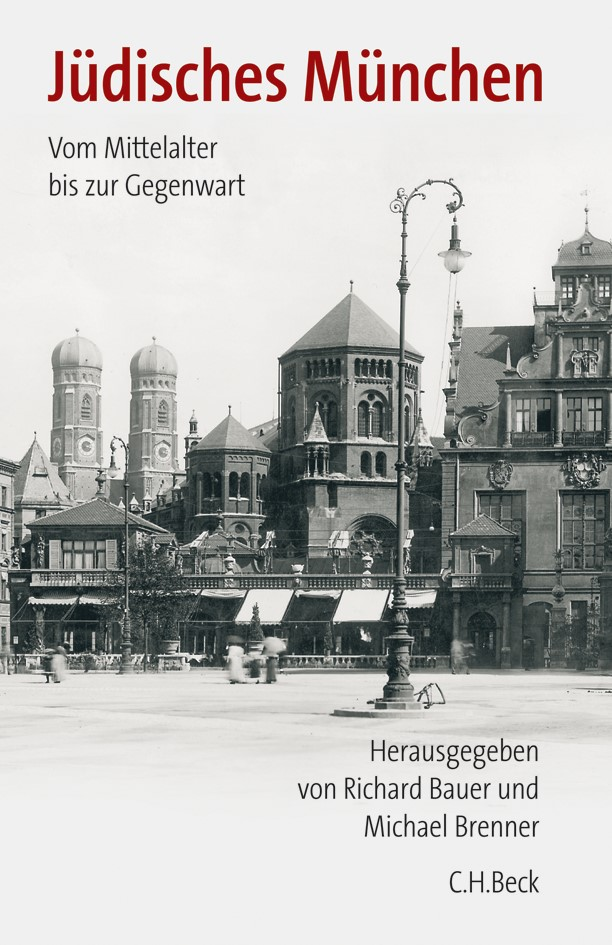 Cover des Buches 'Jüdisches München'