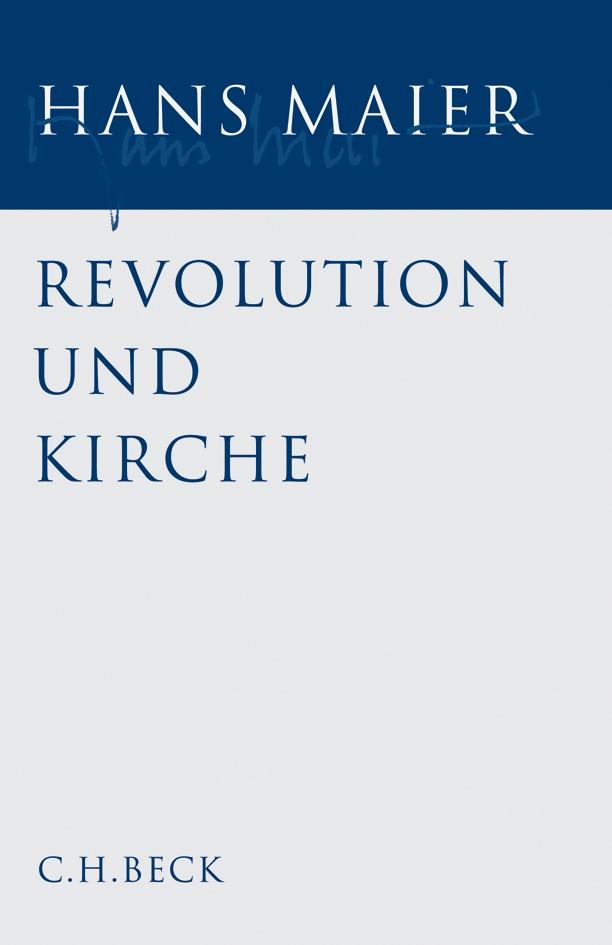 Cover des Buches 'Gesammelte Schriften, Band 1: Revolution und Kirche'