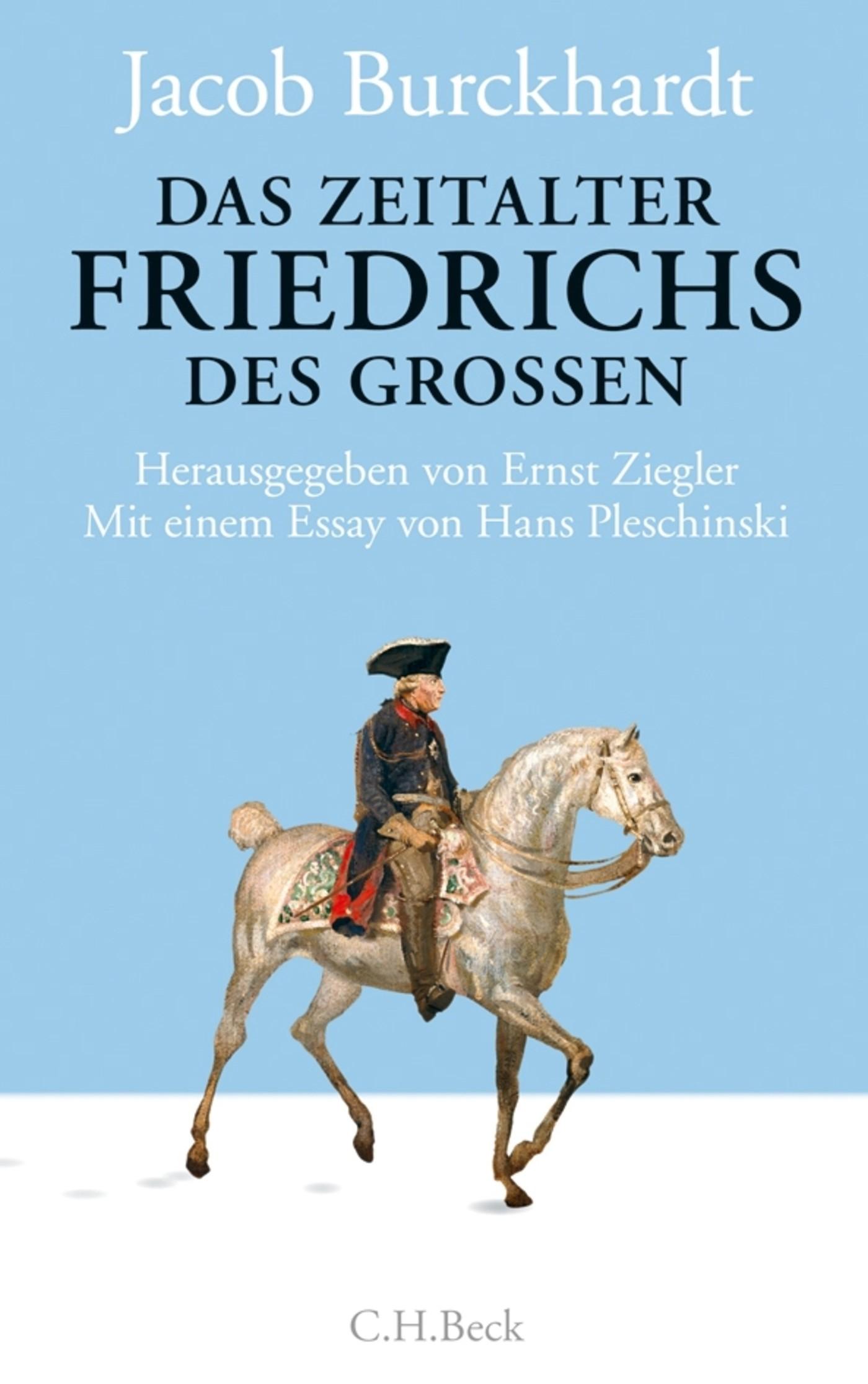 Cover des Buches 'Das Zeitalter Friedrichs des Großen'