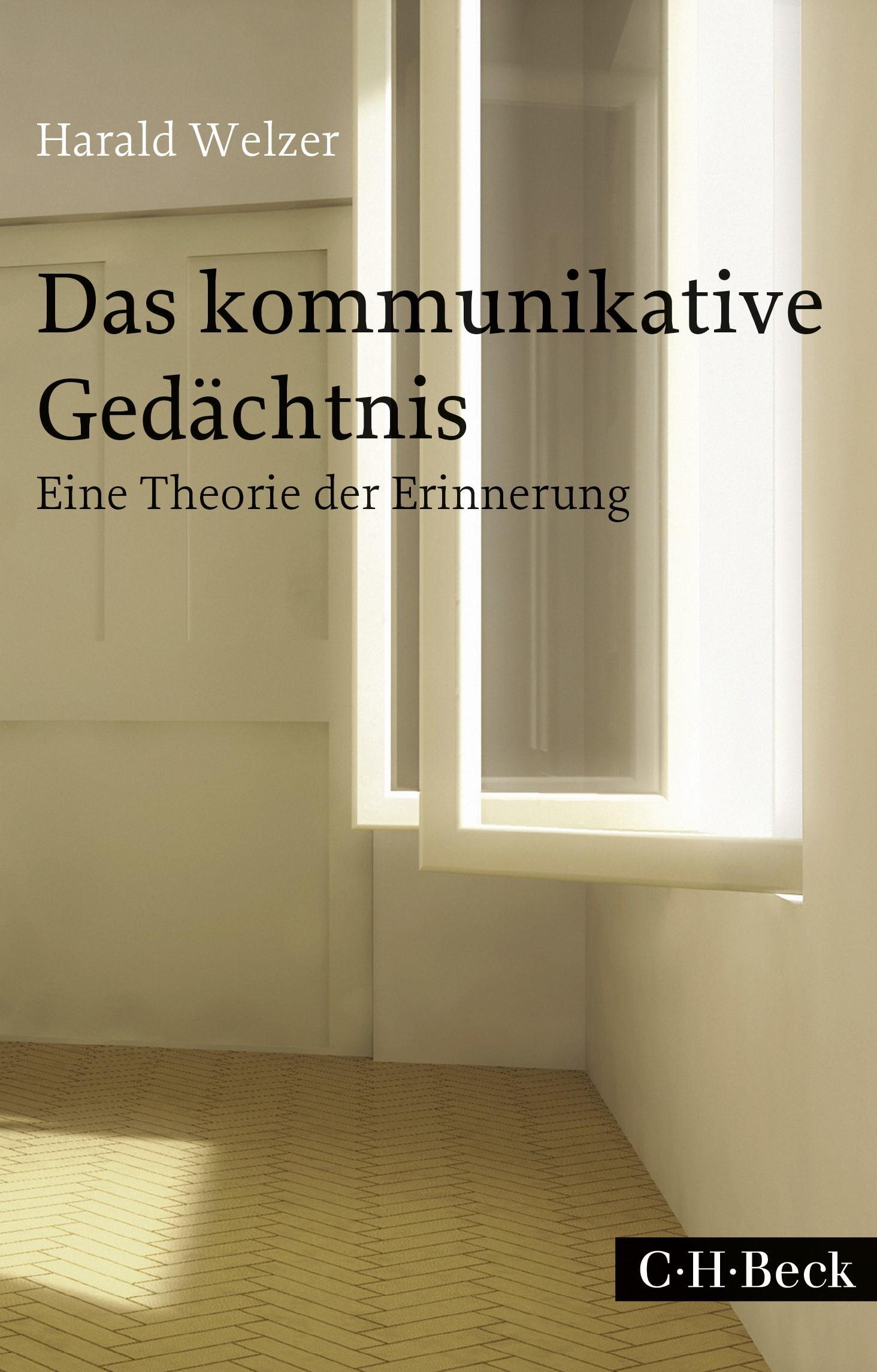 Cover des Buches 'Das kommunikative Gedächtnis'