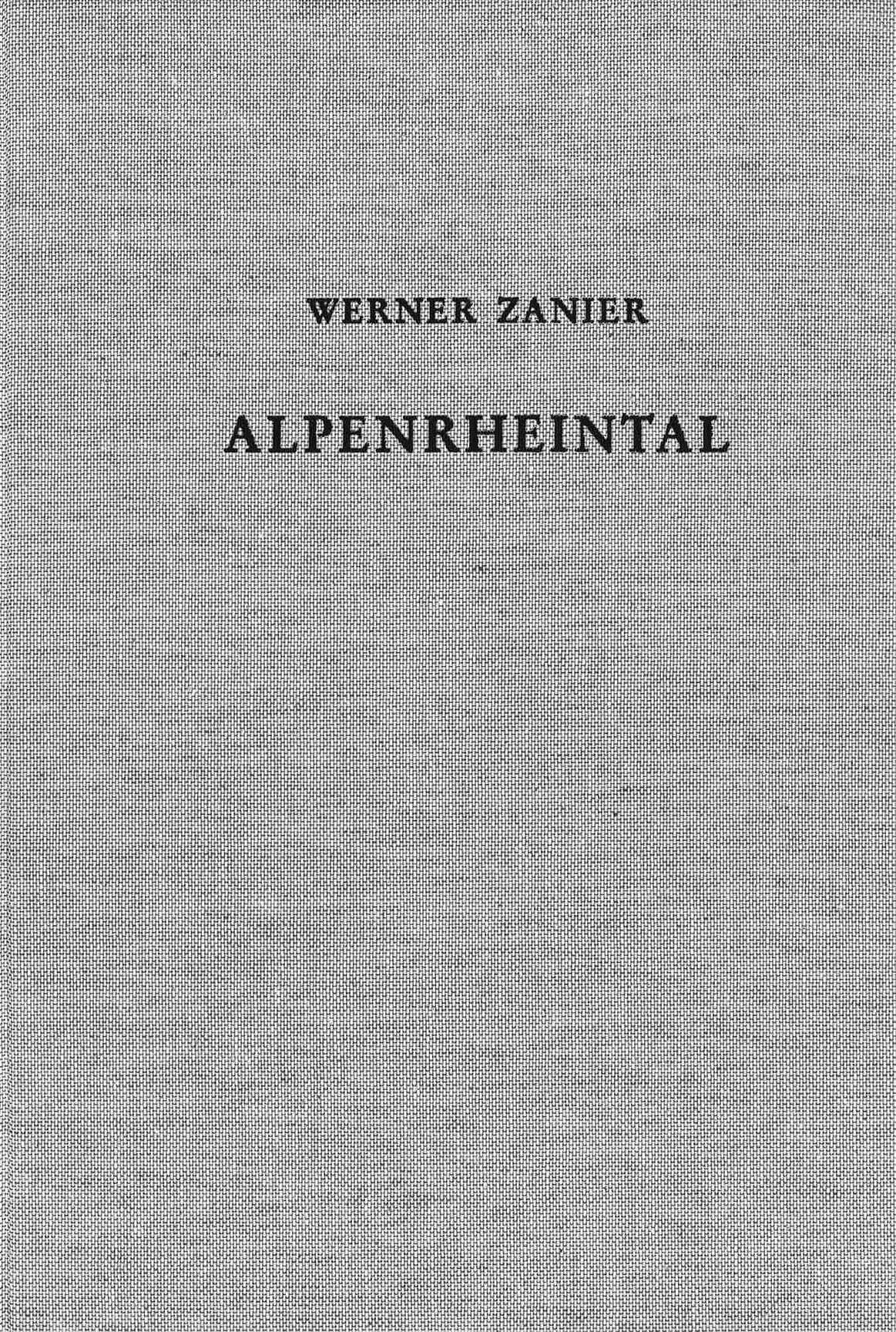 Cover des Buches 'Das Alpenrheintal in den Jahrzehnten um Christi Geburt'