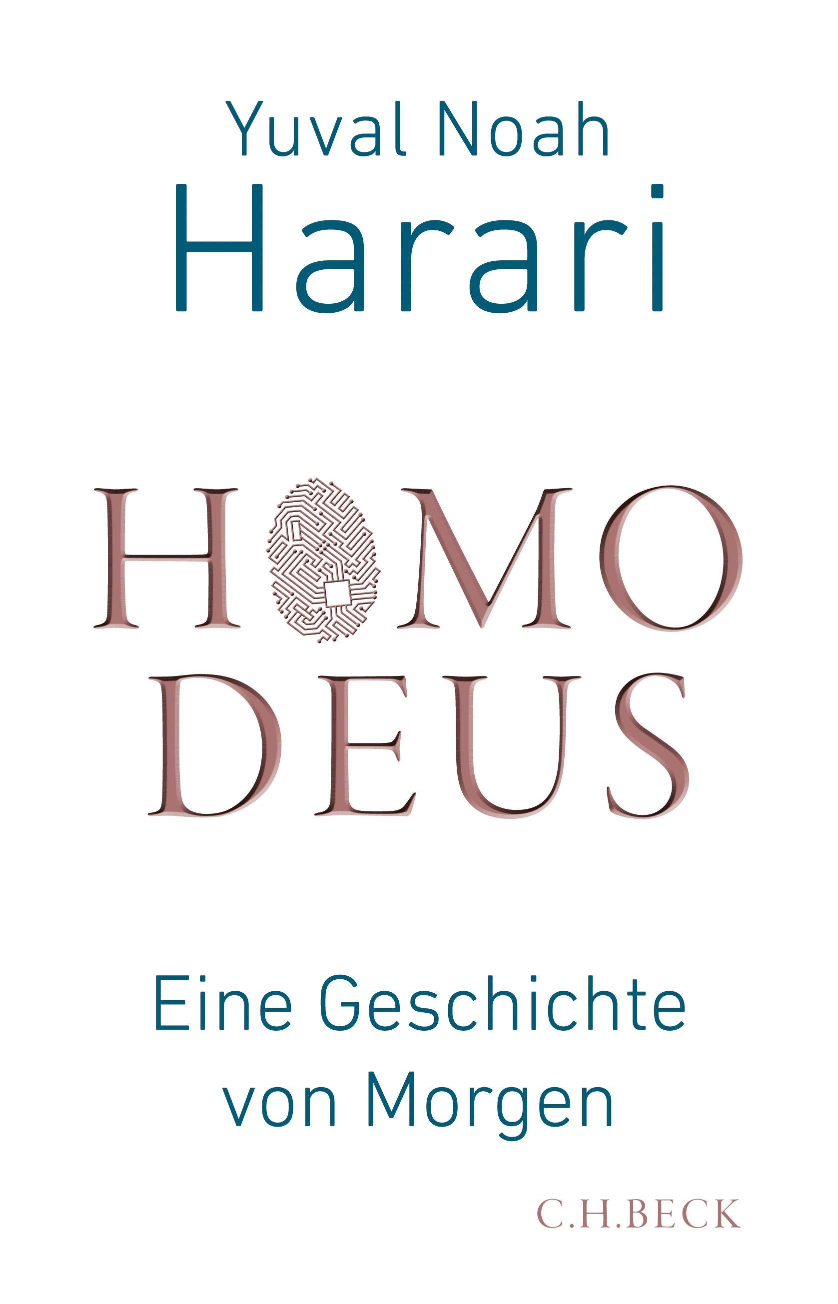 Cover des Buches 'Homo Deus'