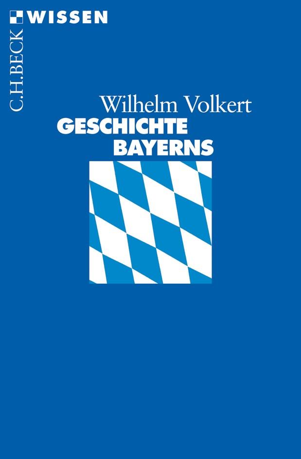 Cover des Buches 'Geschichte Bayerns'