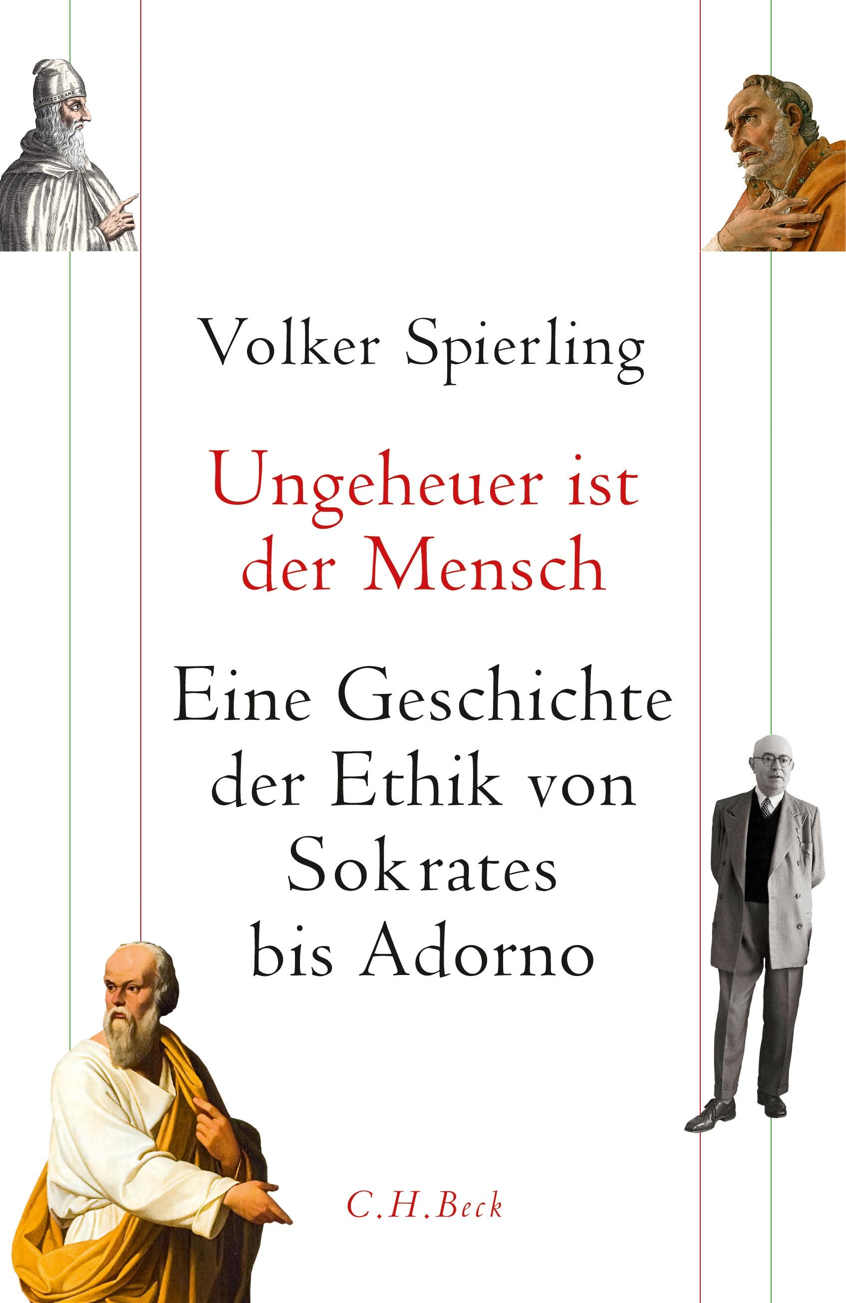 Cover des Buches 'Ungeheuer ist der Mensch'