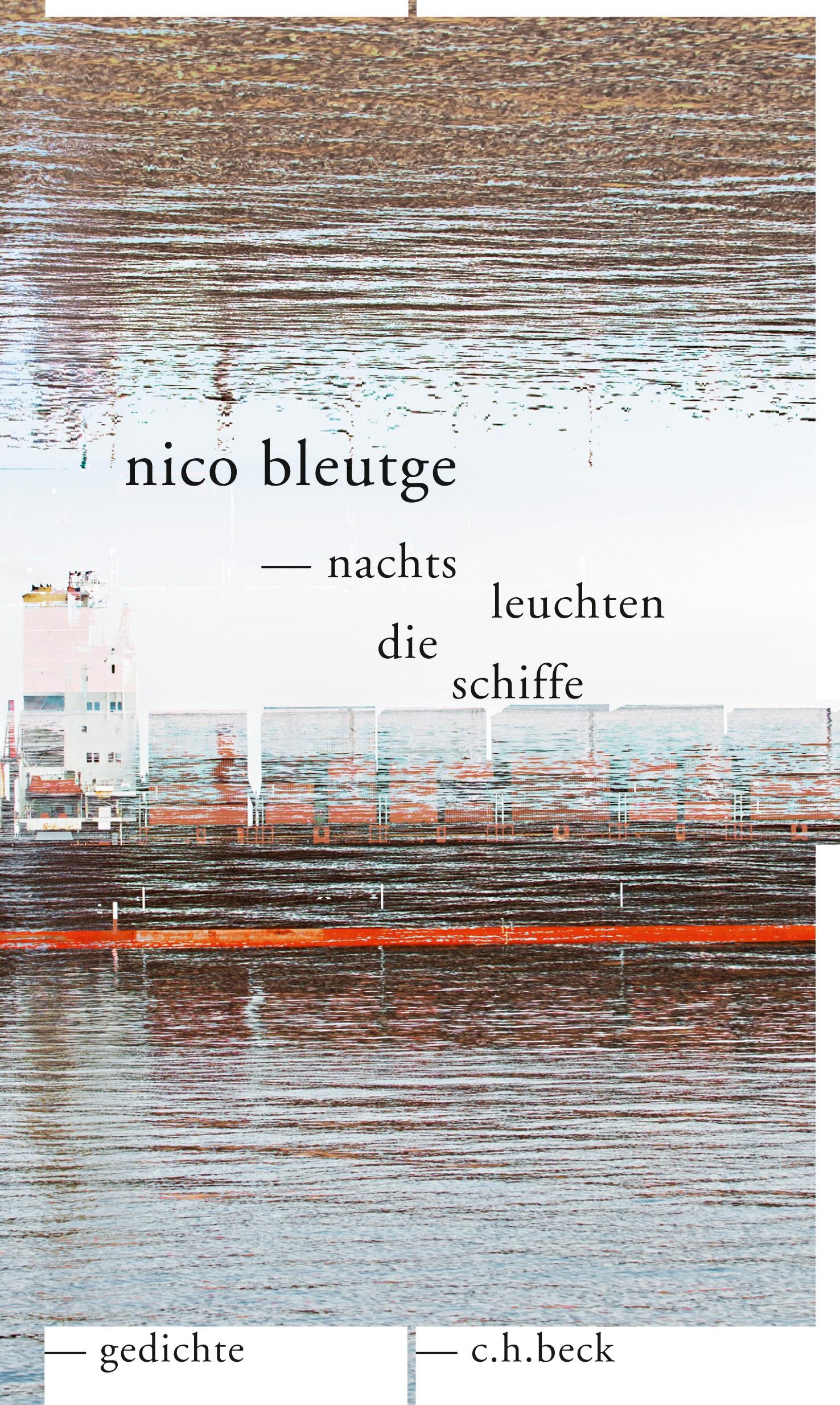Cover des Buches 'nachts leuchten die schiffe'