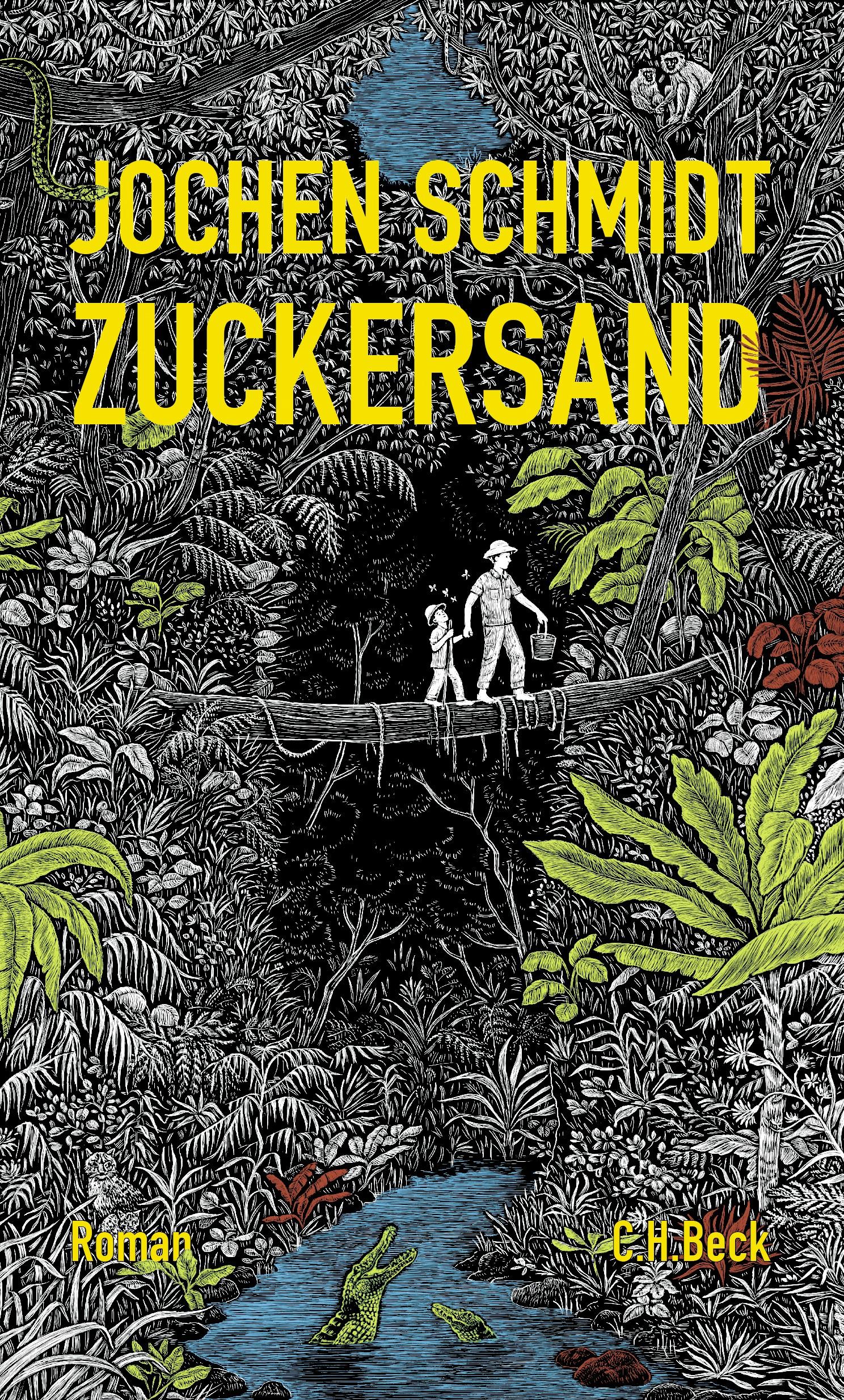 Cover des Buches 'Zuckersand'