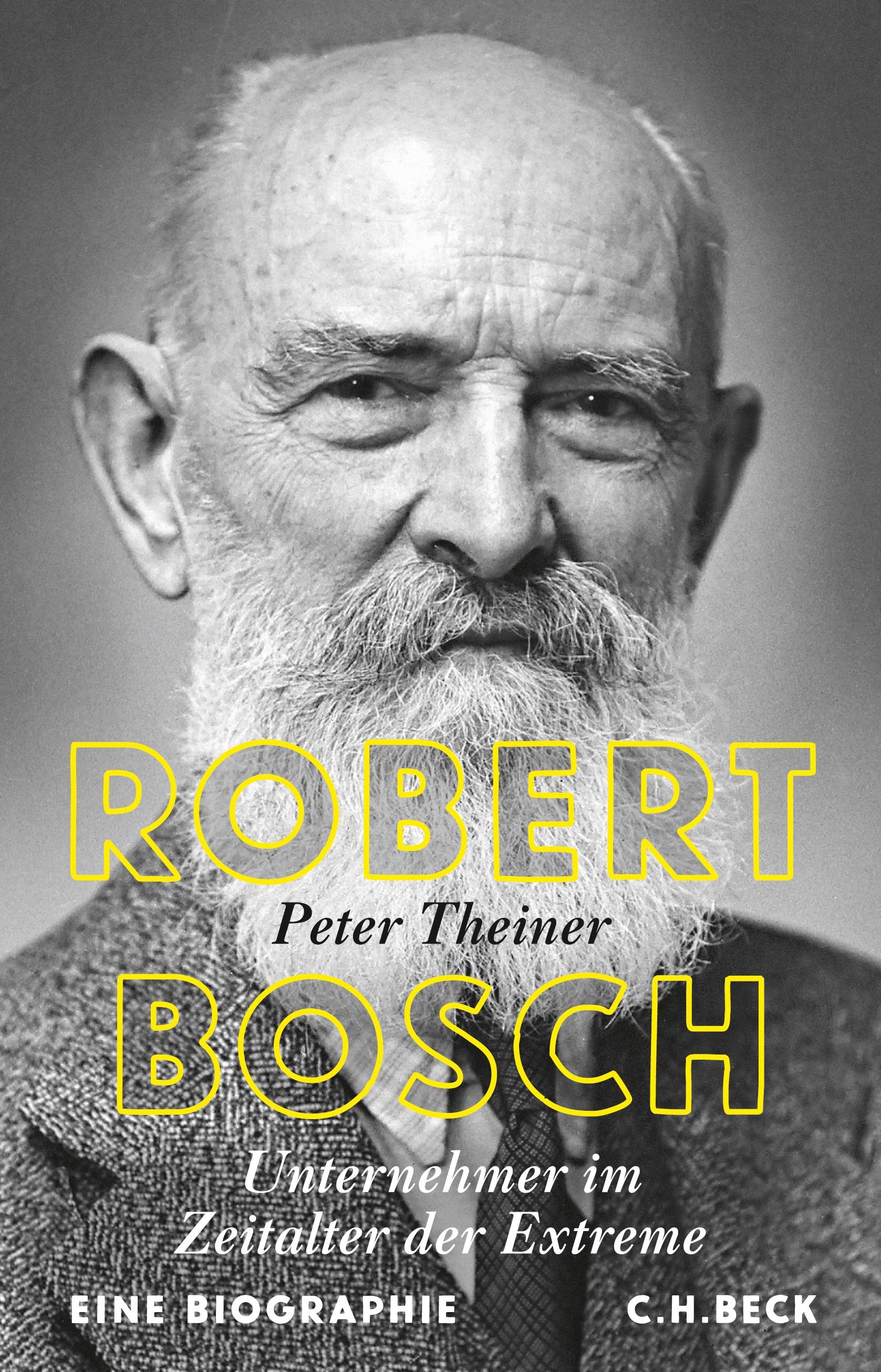 Cover des Buches 'Robert Bosch'