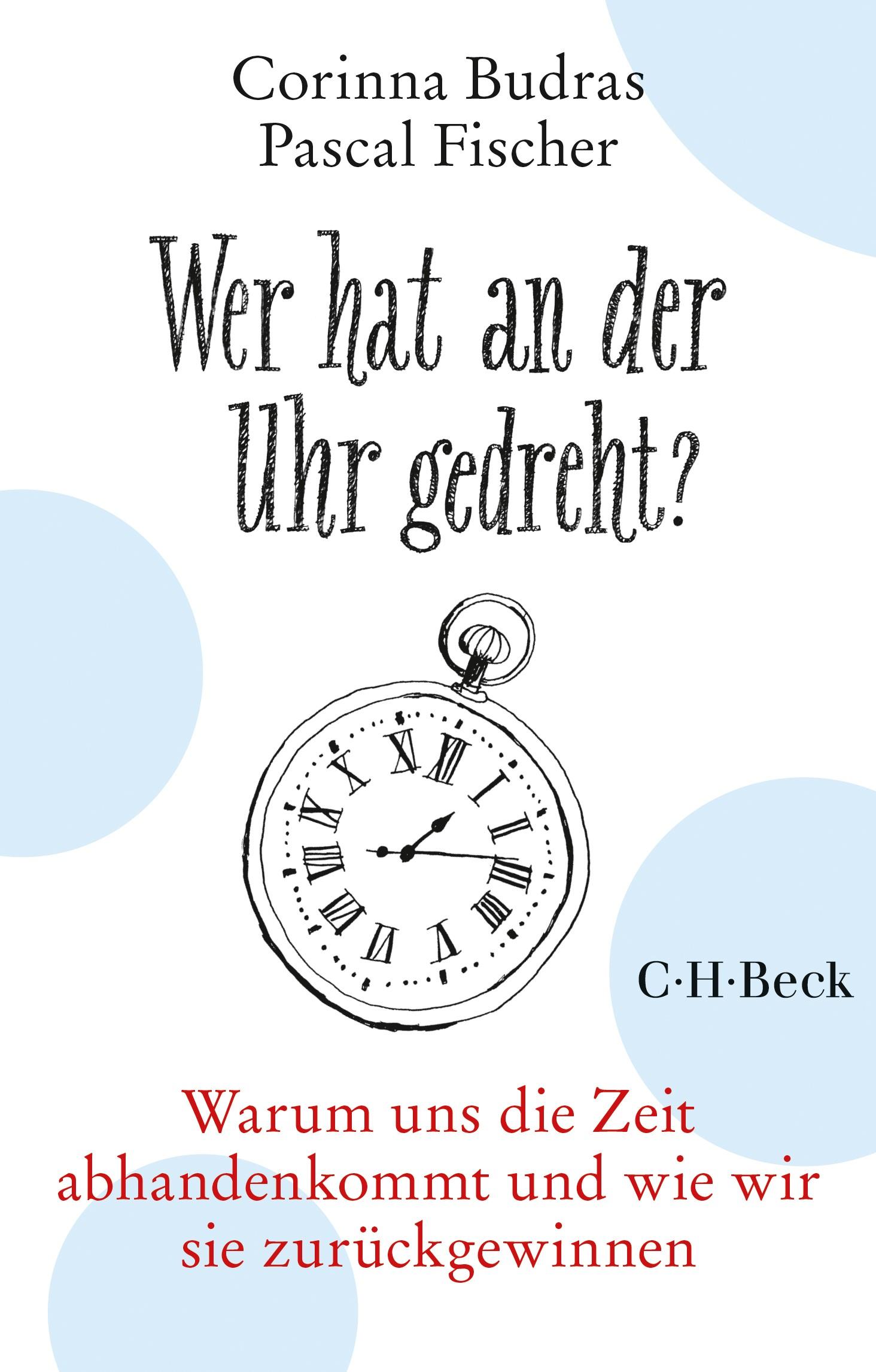 Cover des Buches 'Wer hat an der Uhr gedreht?'