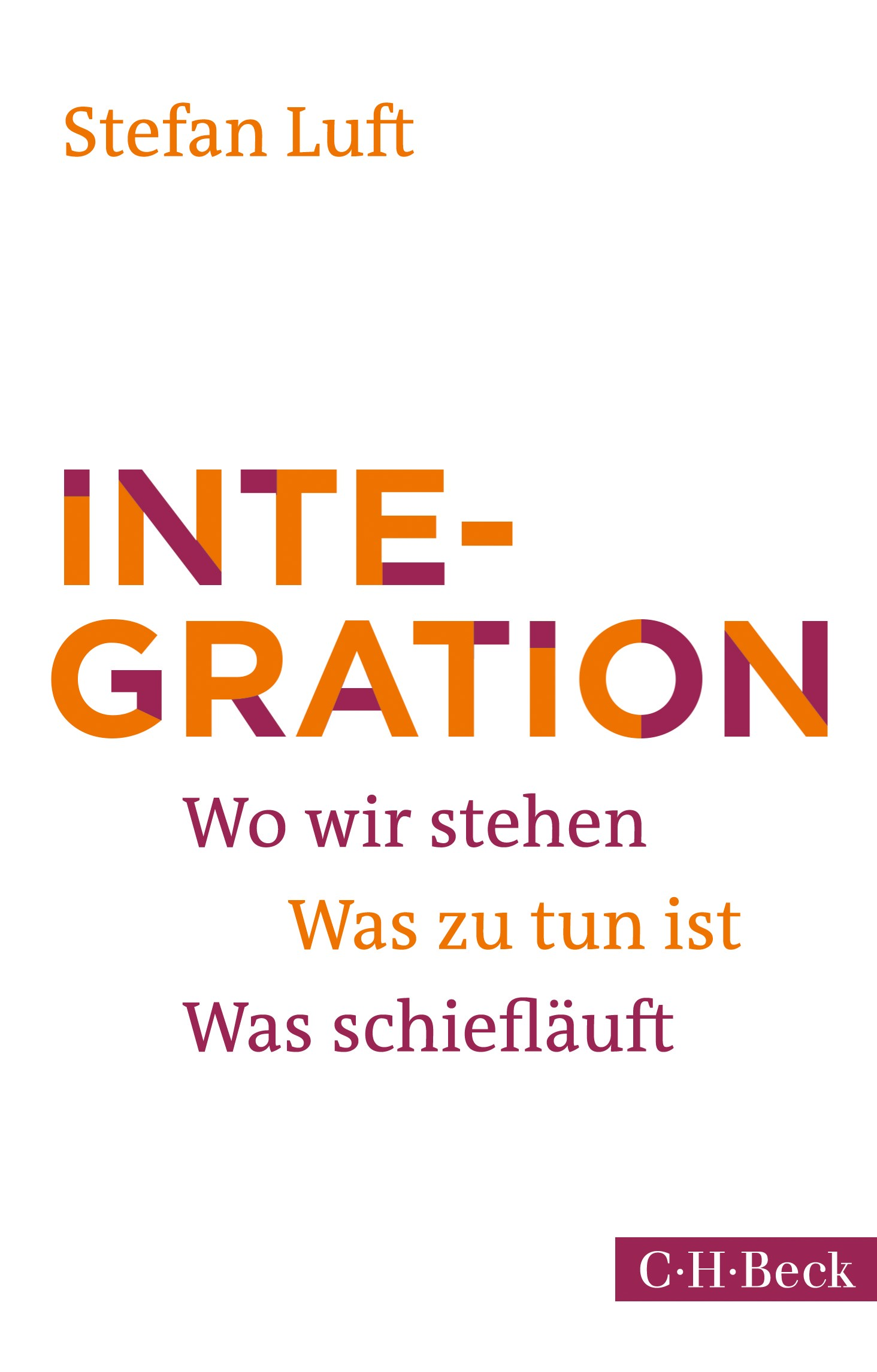 Cover des Buches 'Integration'