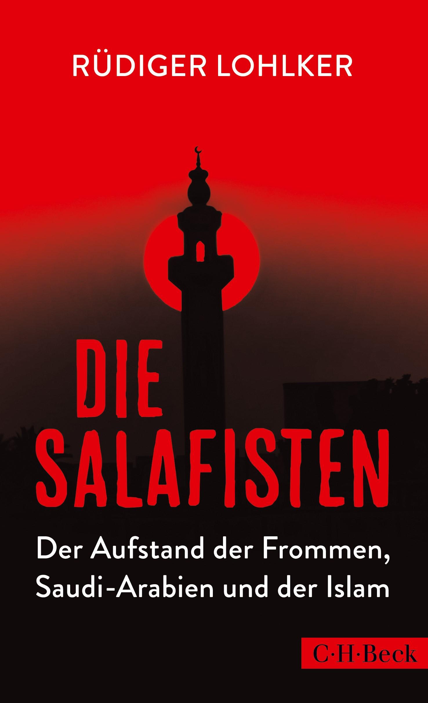 Cover des Buches 'Die Salafisten'