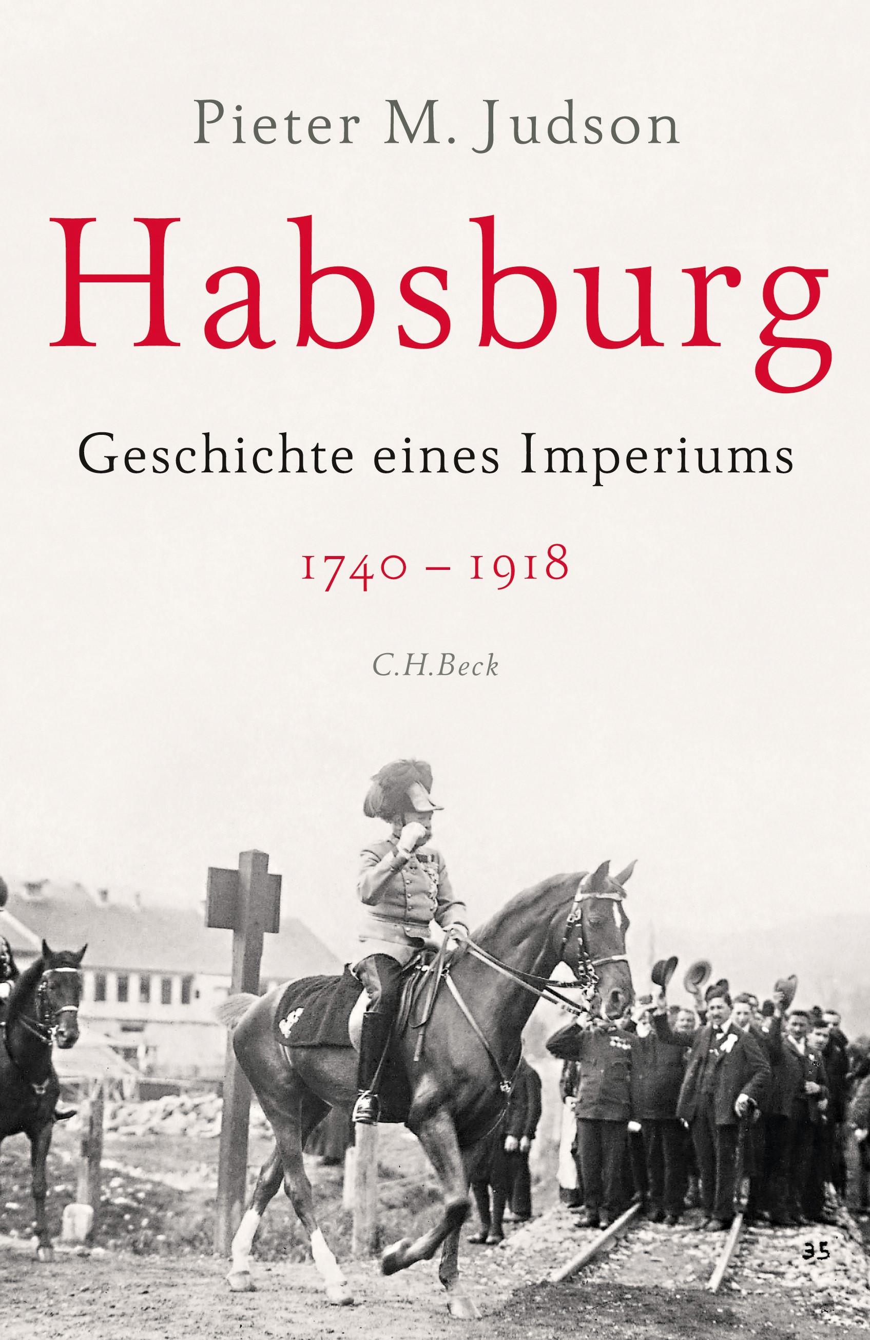 Cover des Buches 'Habsburg'