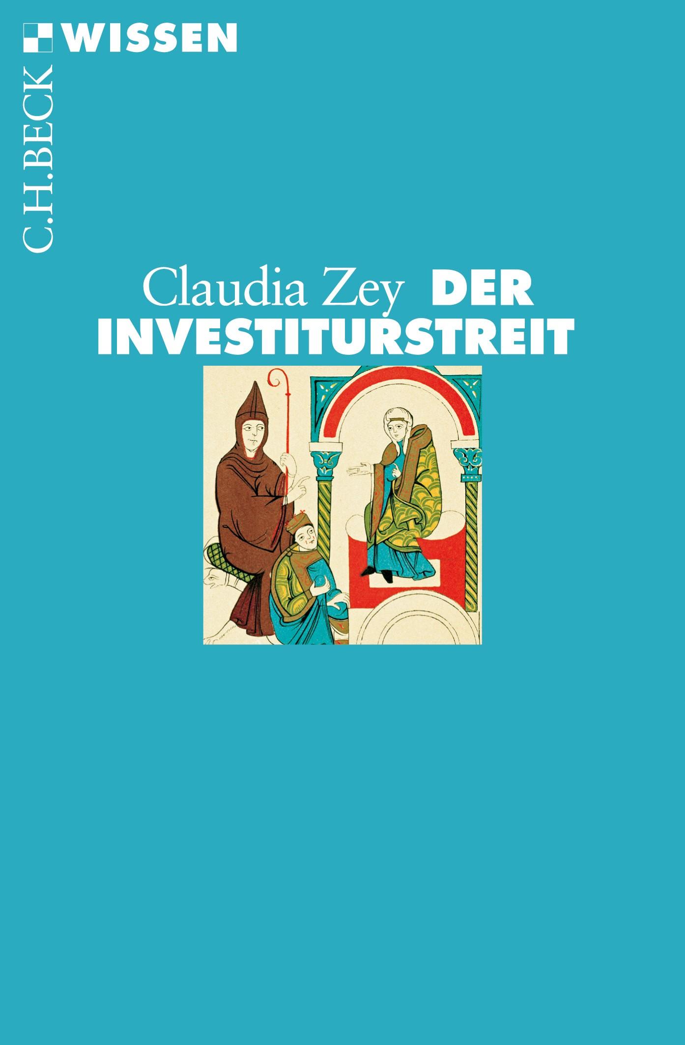Cover des Buches 'Der Investiturstreit'
