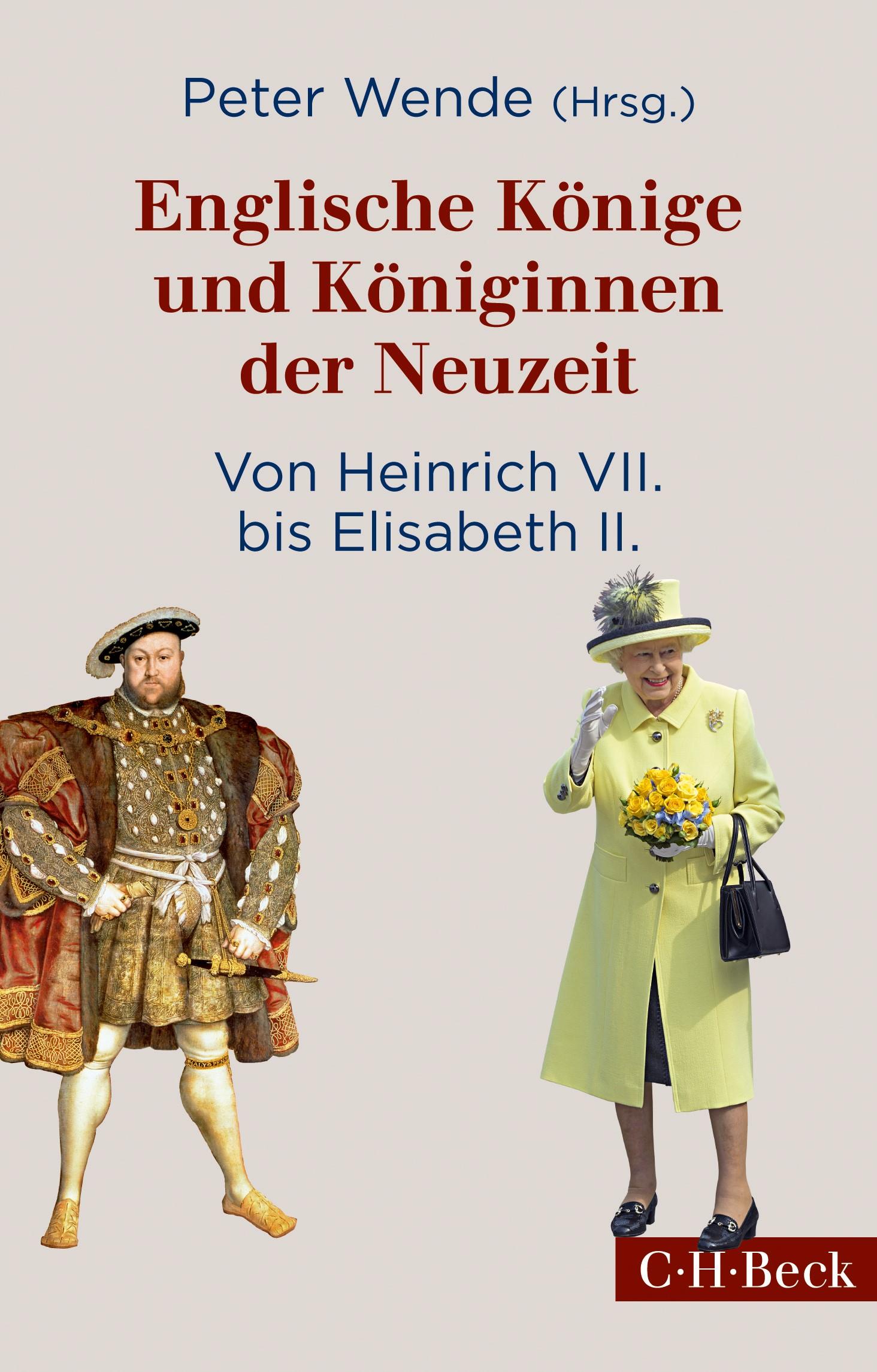 Cover des Buches 'Englische Könige und Königinnen der Neuzeit'