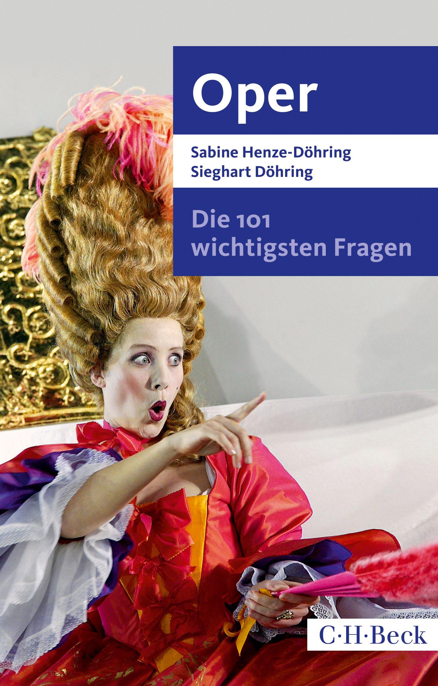 Cover des Buches 'Die 101 wichtigsten Fragen - Oper'