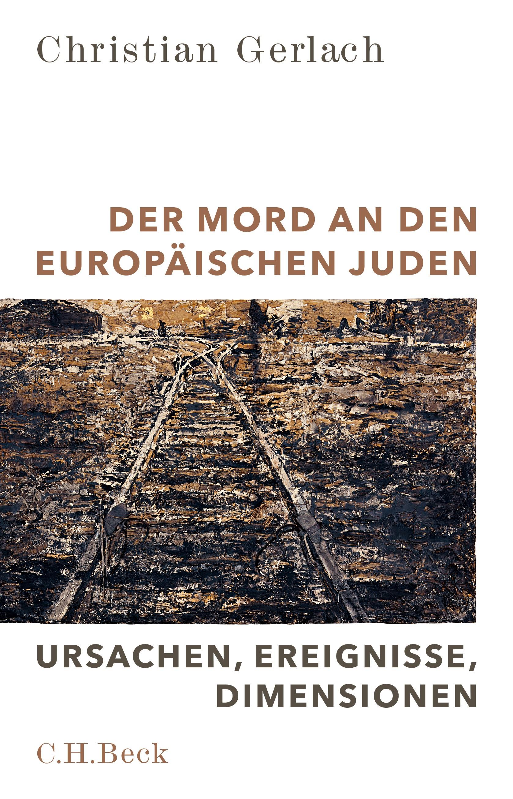 Cover des Buches 'Der Mord an den europäischen Juden'