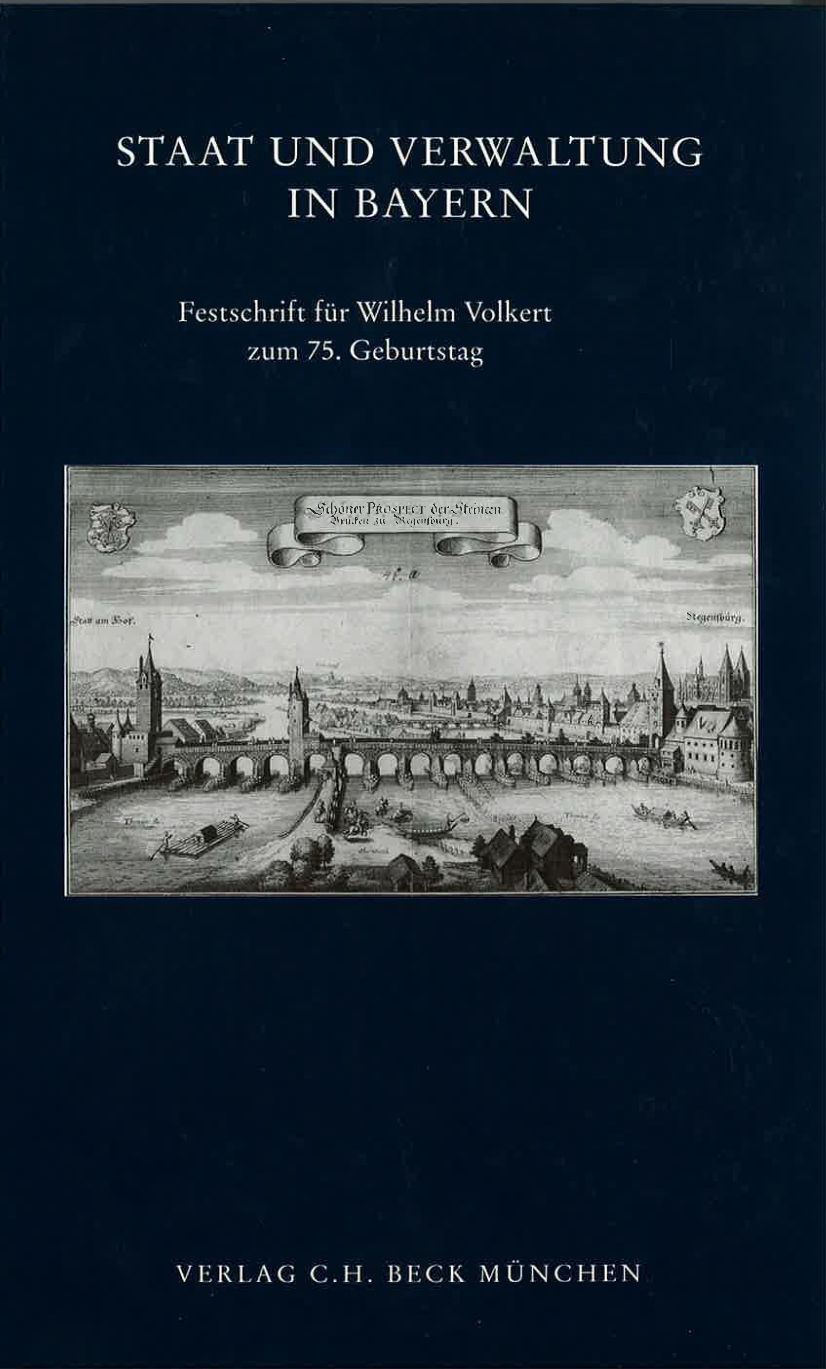 Cover des Buches 'Staat und Verwaltung in Bayern'