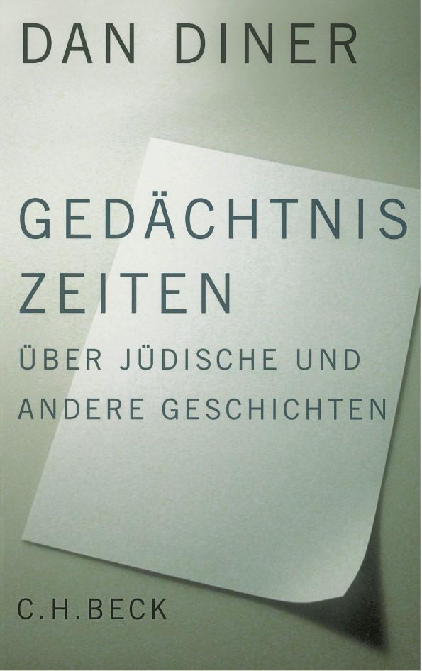 Cover des Buches 'Gedächtniszeiten'